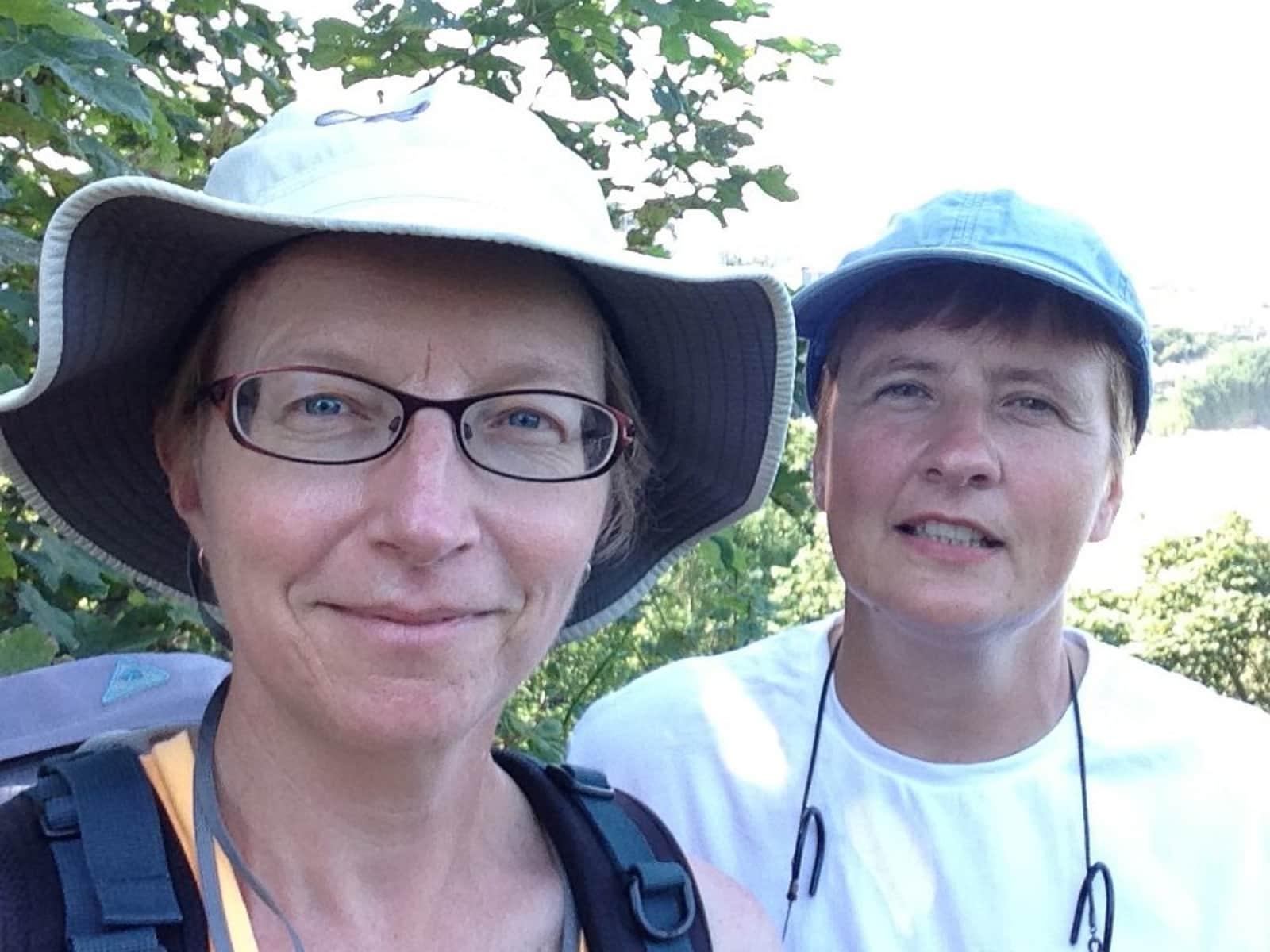 Ellen & Tracy from Victoria, British Columbia, Canada