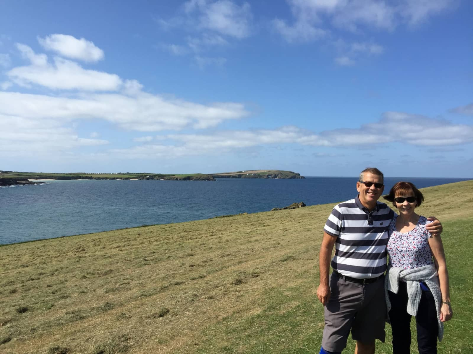 John & Eileen from Padstow, United Kingdom