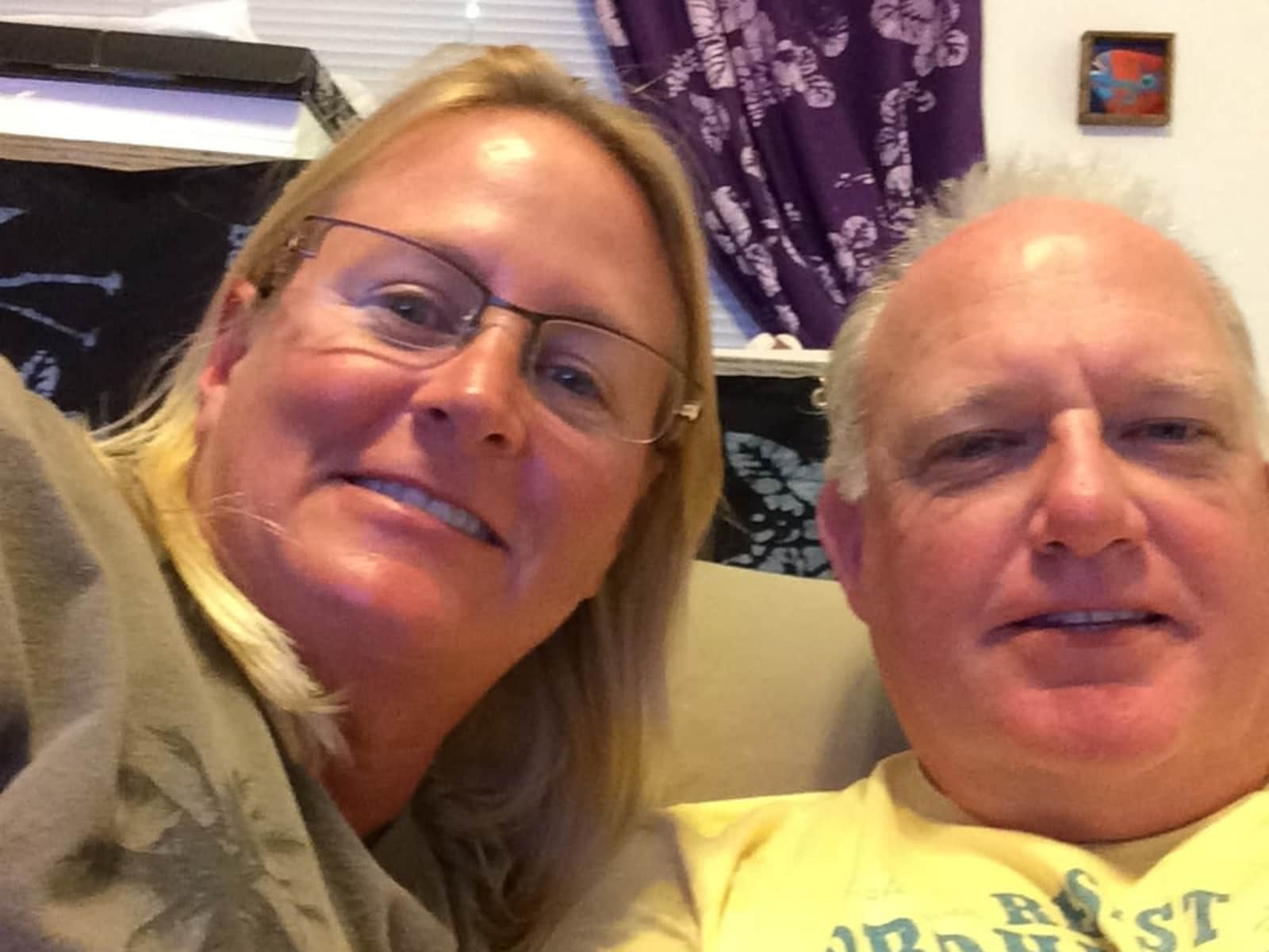Radford & Pamela from West Palm Beach, Florida, United States