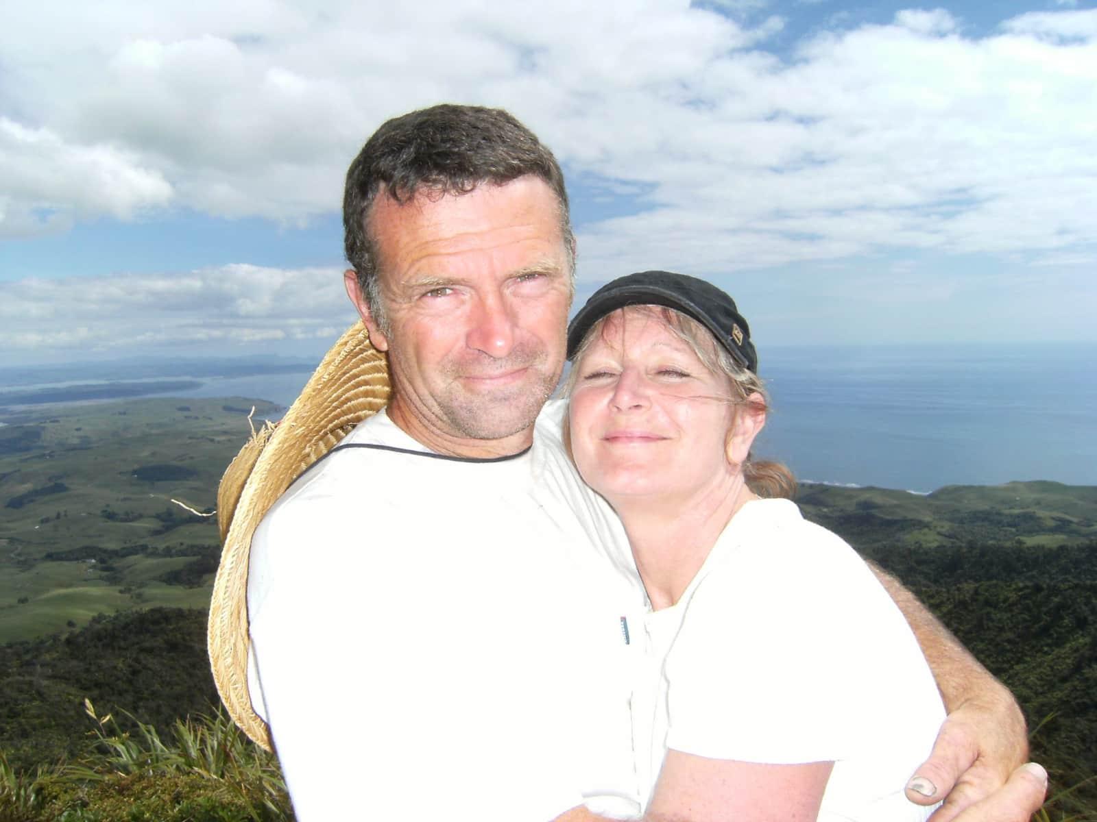 Delwyn & Bruce from Raglan, New Zealand