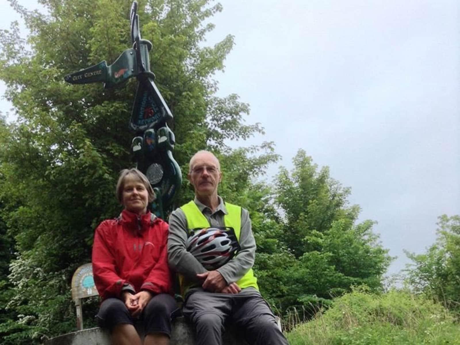 Frances & Stephen from Wellington, New Zealand