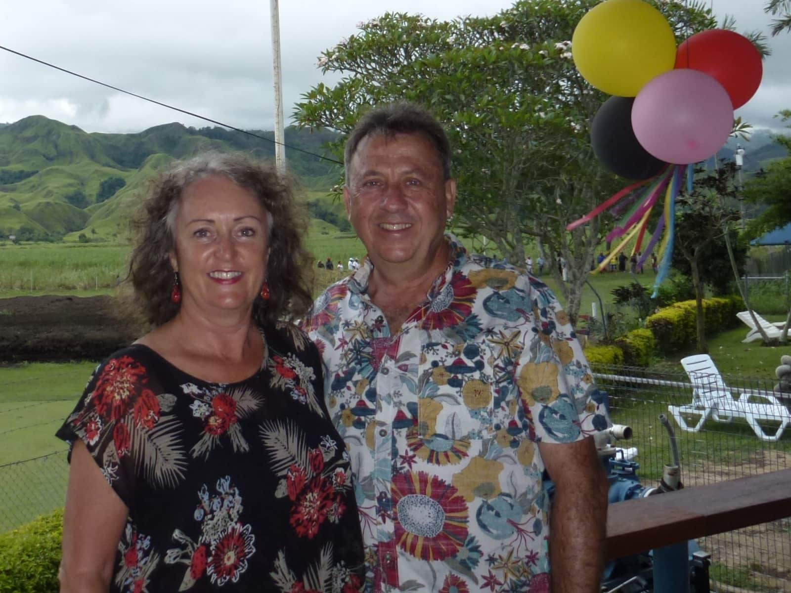 Dianne & Peter from Yamba, New South Wales, Australia