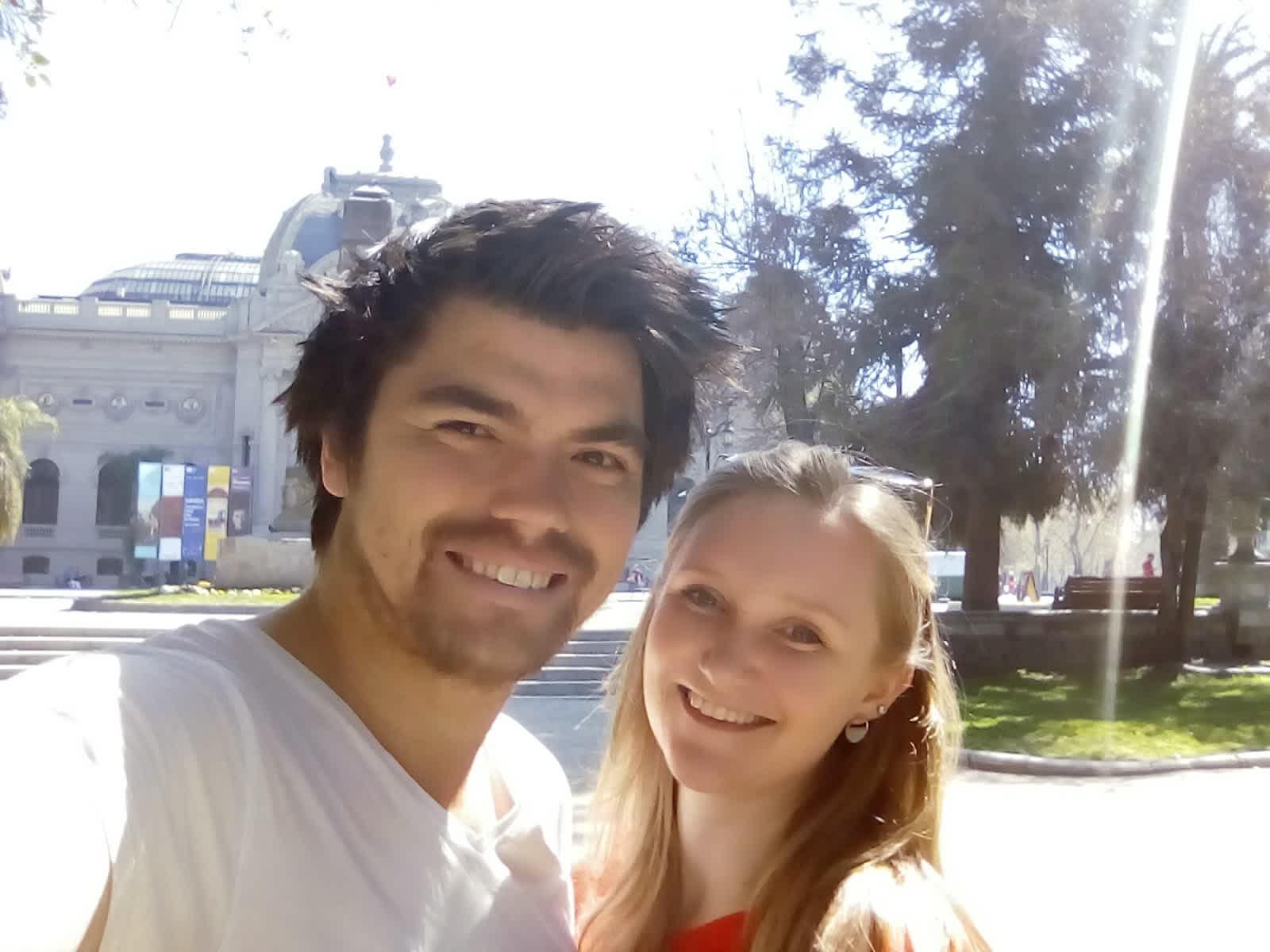 Helen & Jaroslav from Wellington, New Zealand