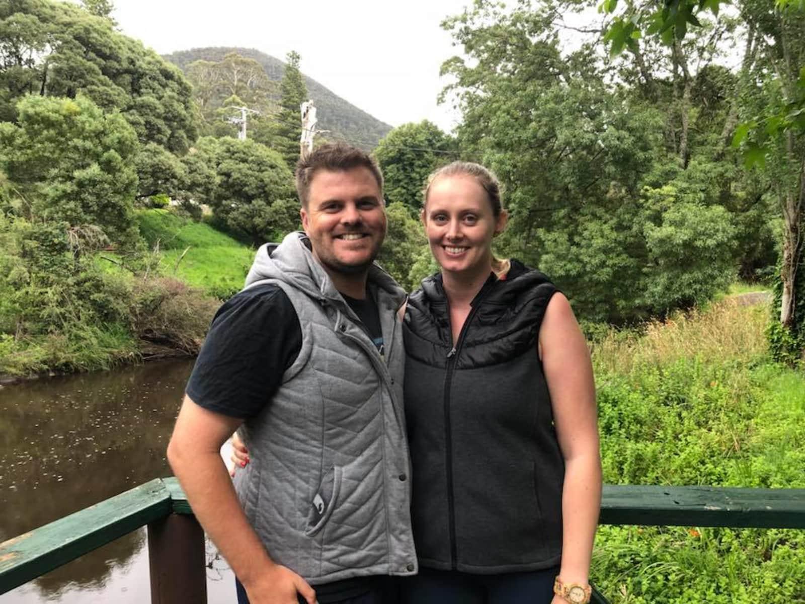 Jessica & Daniel from North Melbourne, Victoria, Australia