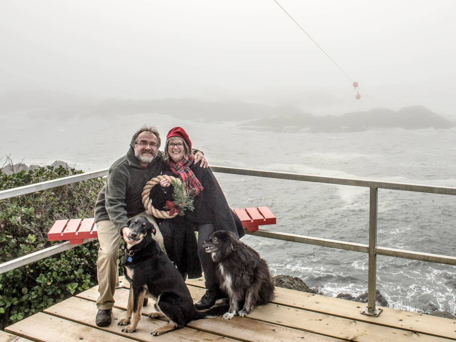 Jeff & Caroline from Tofino, British Columbia, Canada