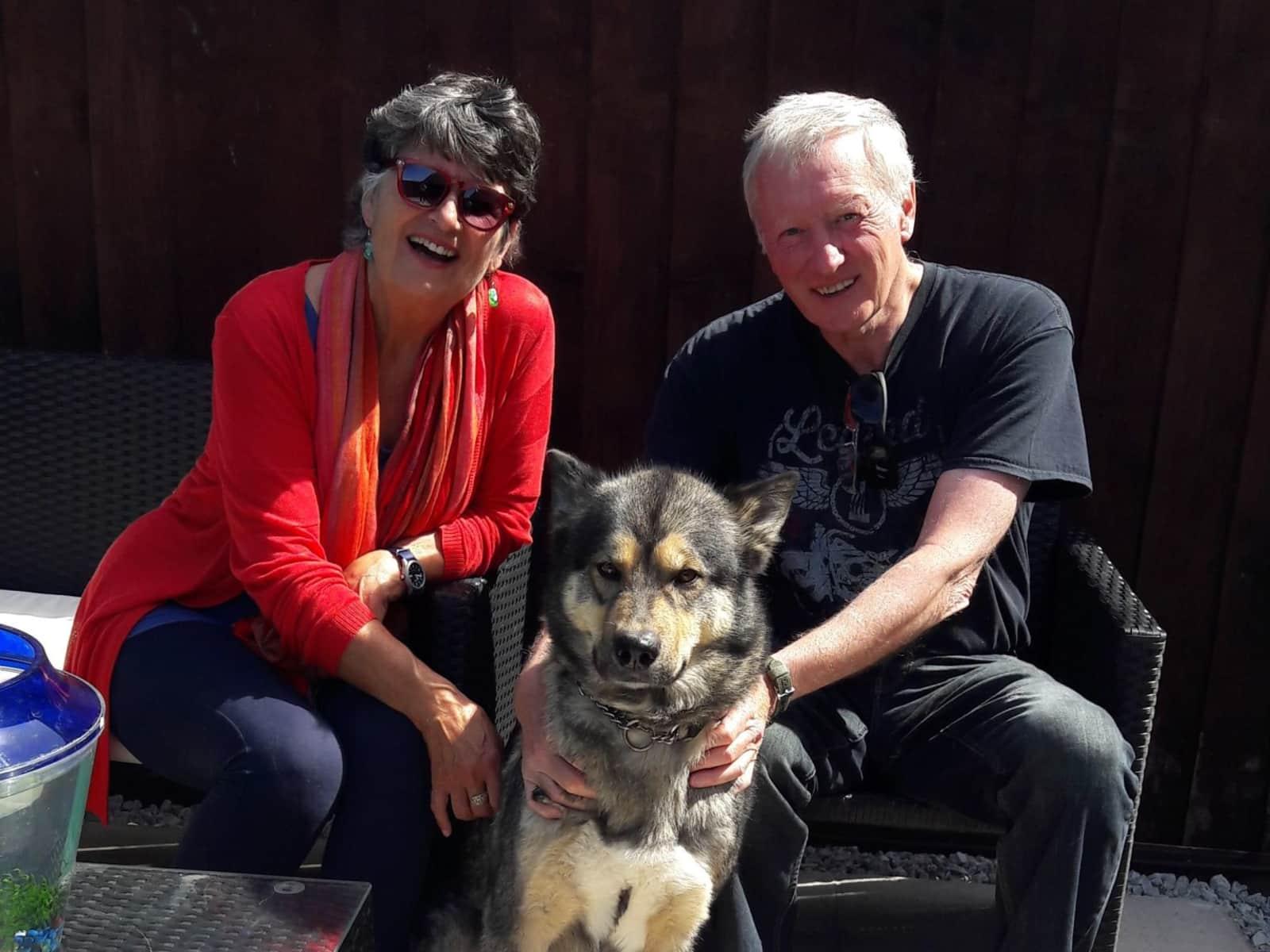 Tony & Janet from Kirk Ella, United Kingdom