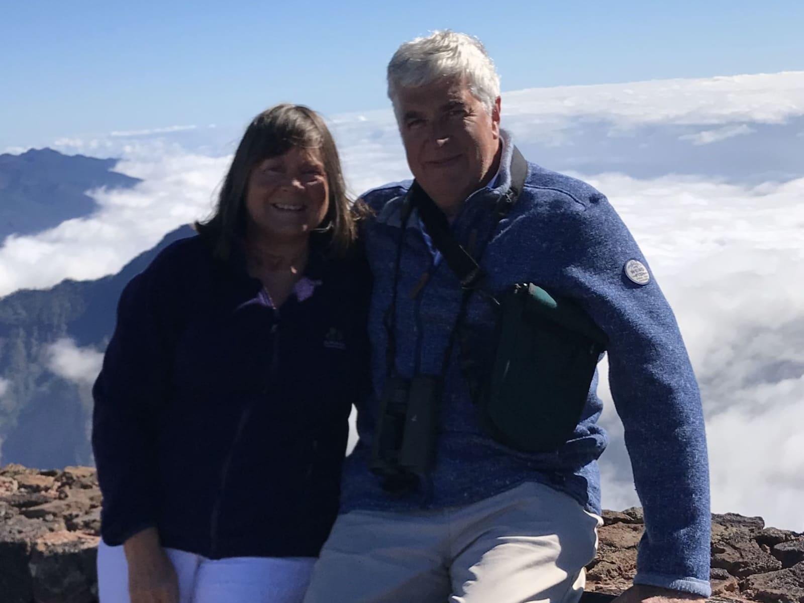 Stephen & Roberta from Glastonbury, United Kingdom
