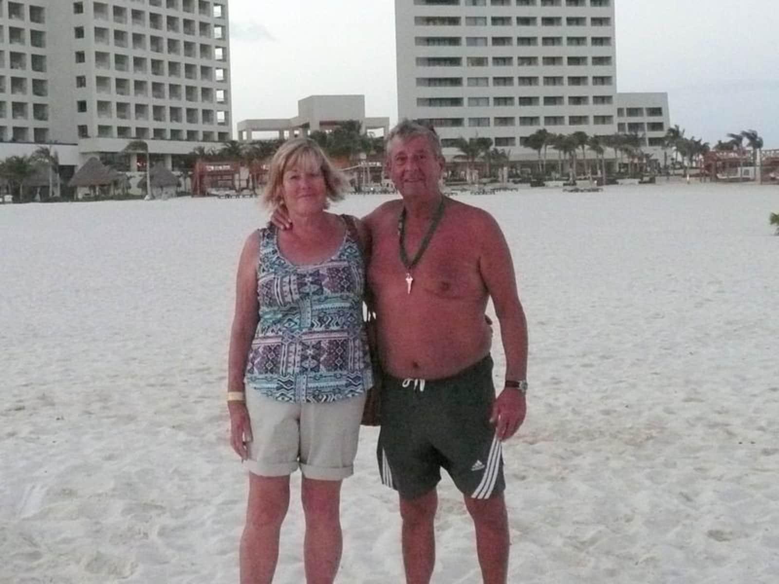 Judy & Tony from Caves Beach, New South Wales, Australia