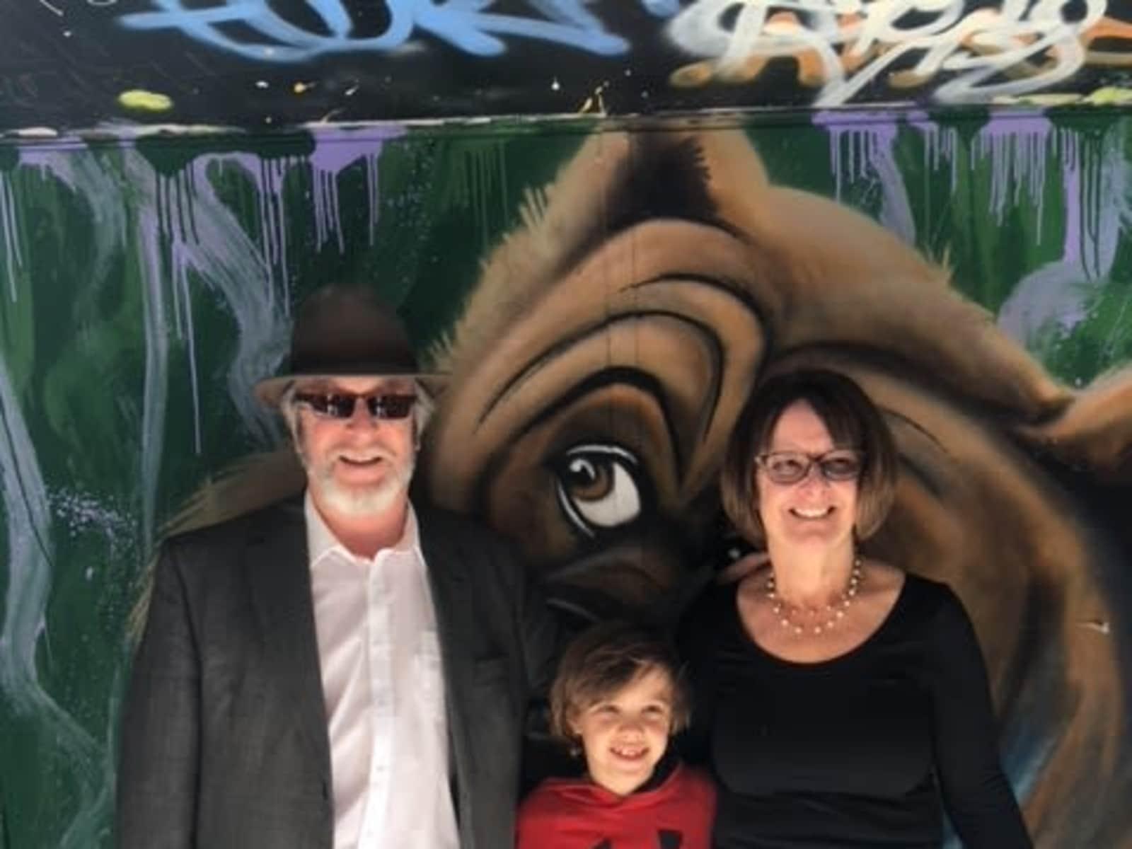 Pamela & Frank from Gisborne, Victoria, Australia
