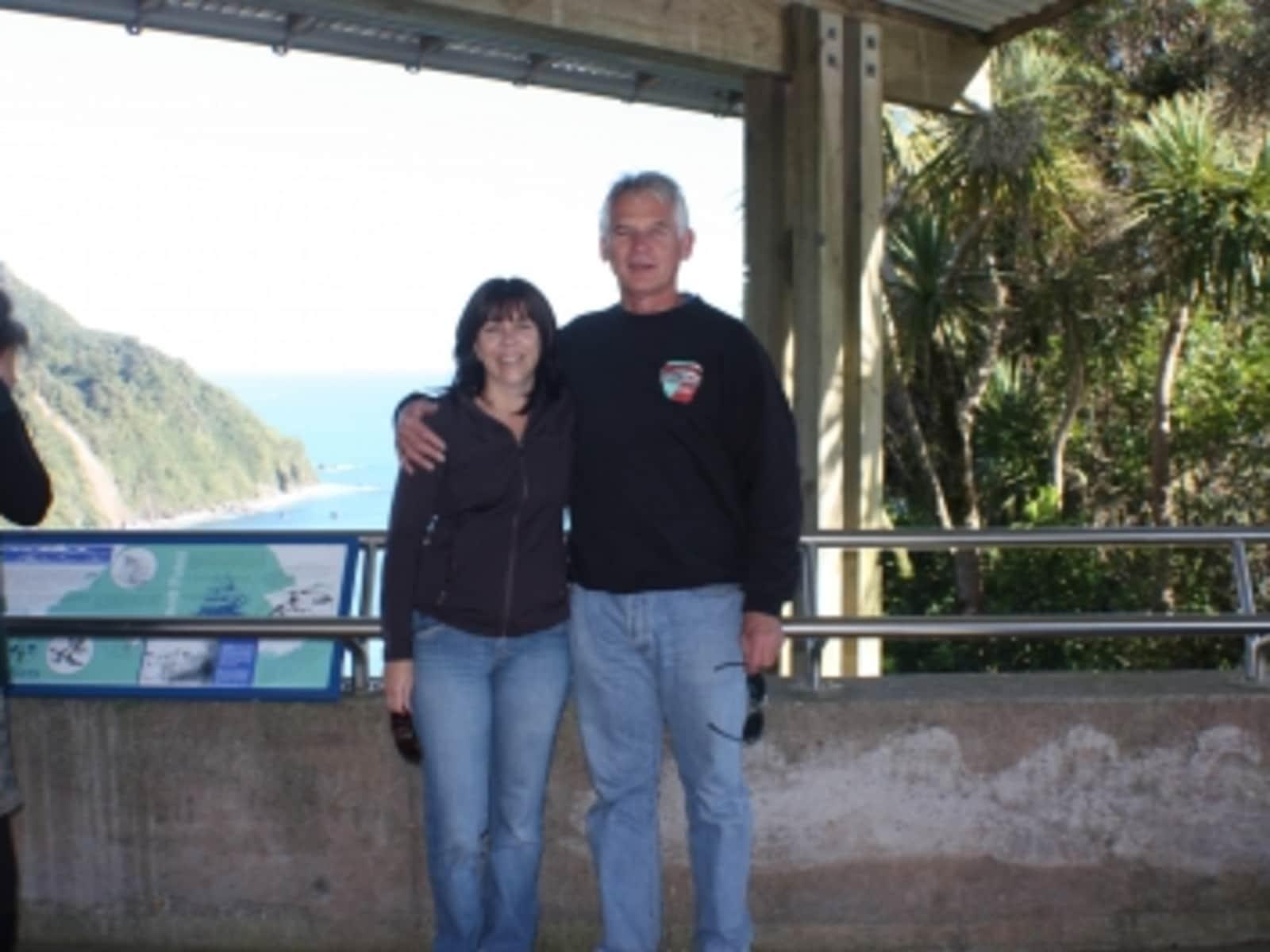 Daryl & Brenda from Wellington, New Zealand