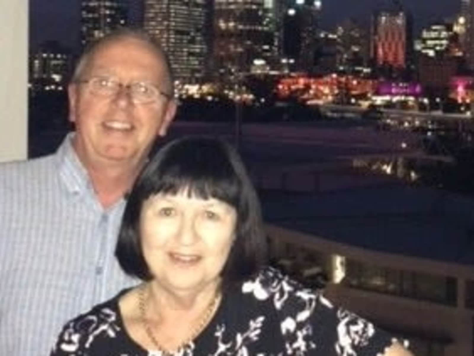Brenda & Philip from Invercargill, New Zealand