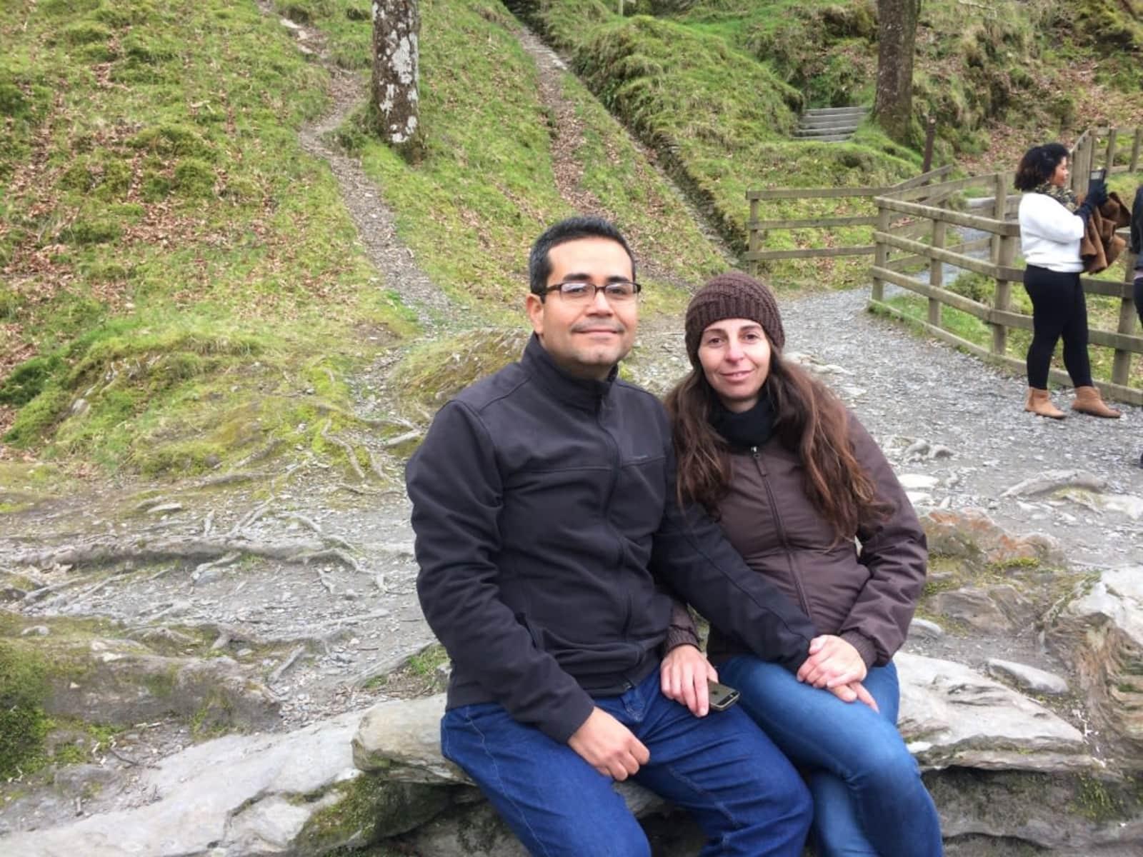 Roberto & Carla from Dublin, Ireland