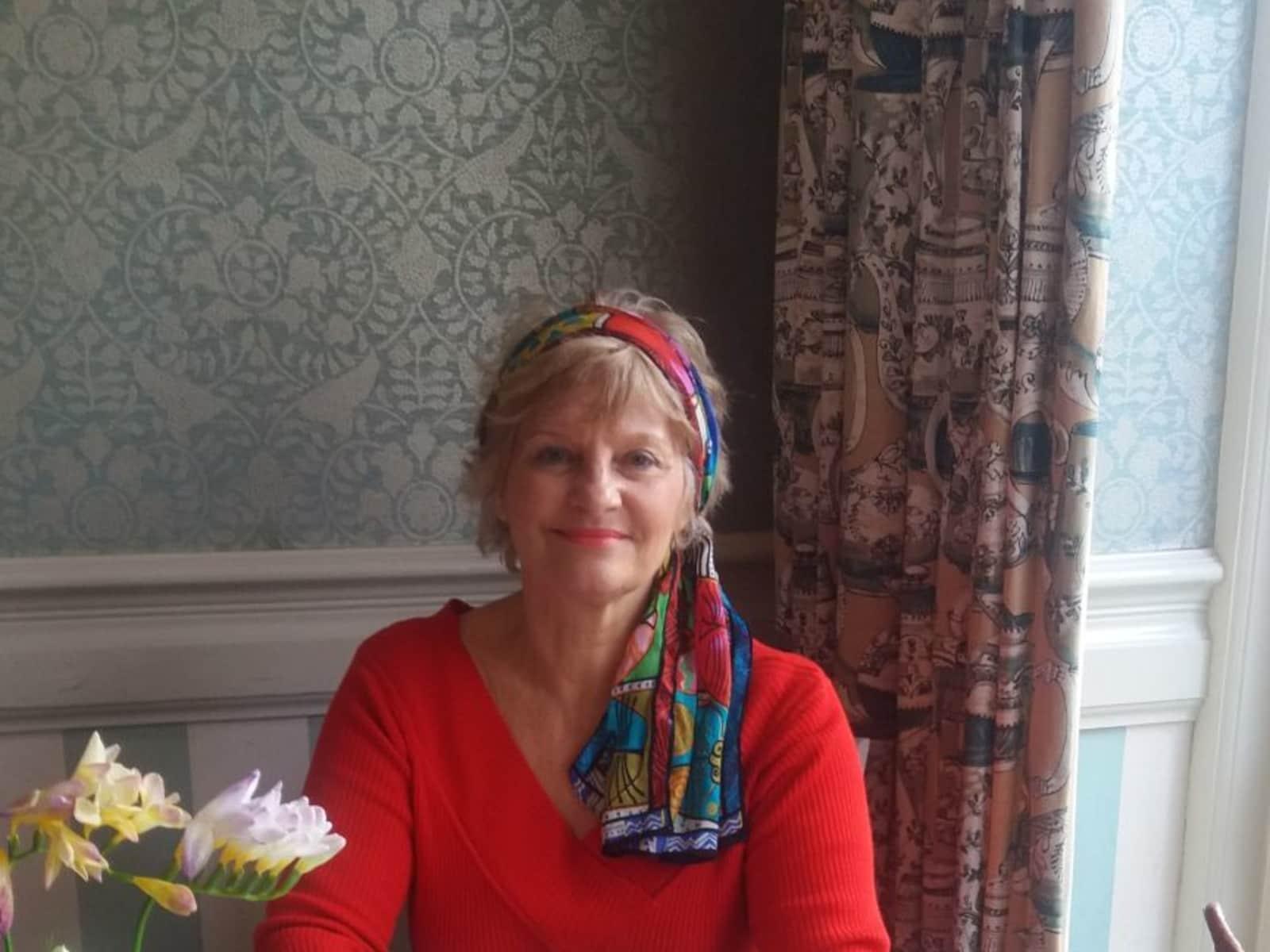 Joan from Stamford, United Kingdom
