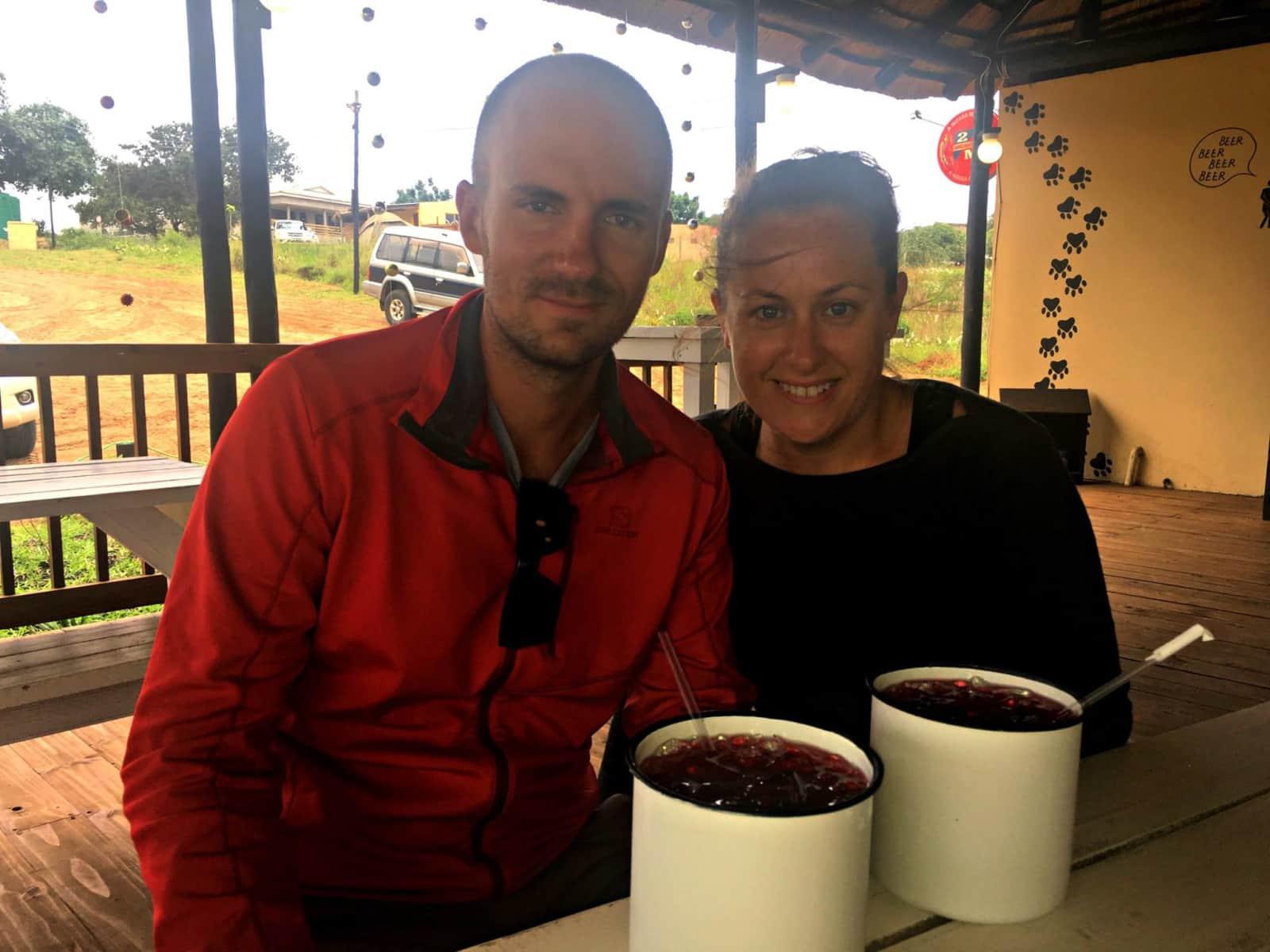 Lisa & Clayton from Port Elizabeth, South Africa
