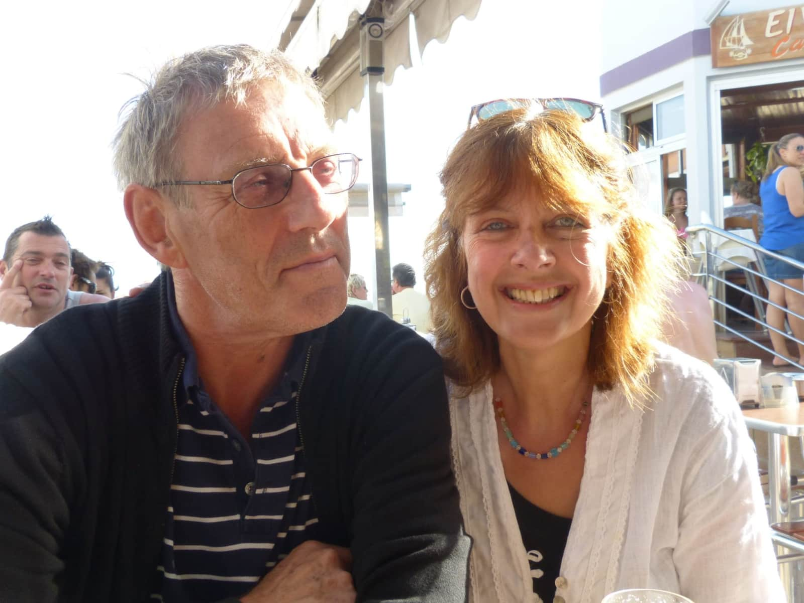 June & Michael from Cranleigh, United Kingdom