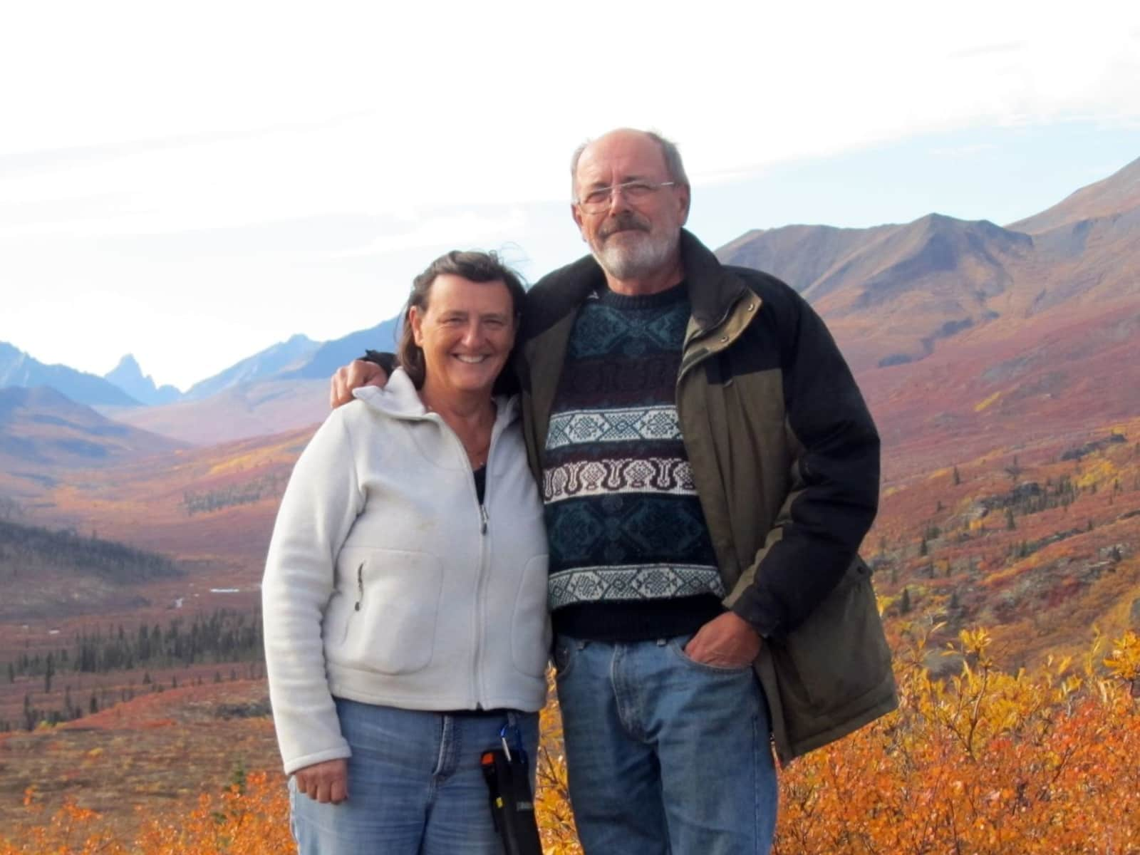 Lorraine & James from Powell River, British Columbia, Canada