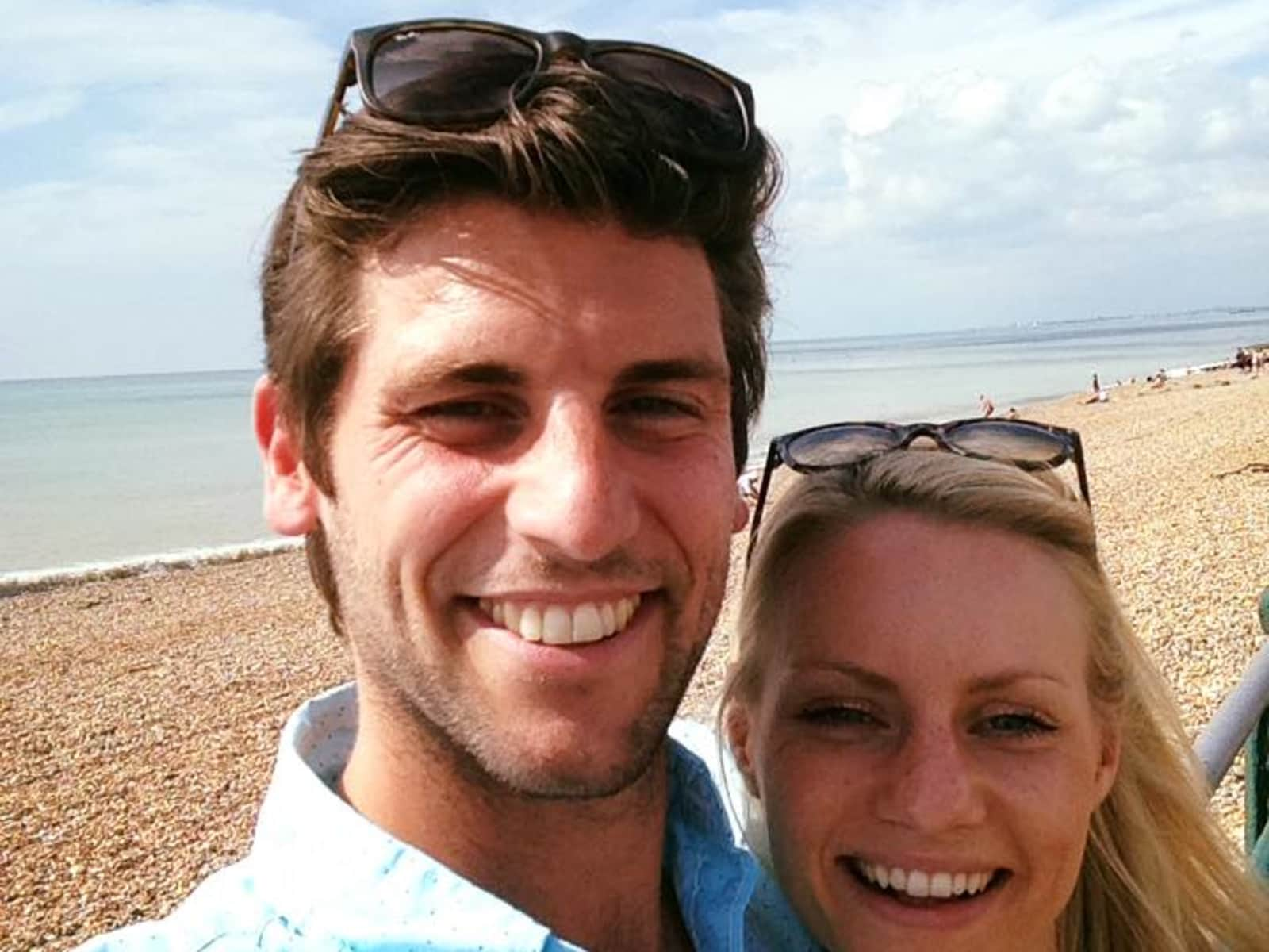 Alex & Sophie from Hove, United Kingdom