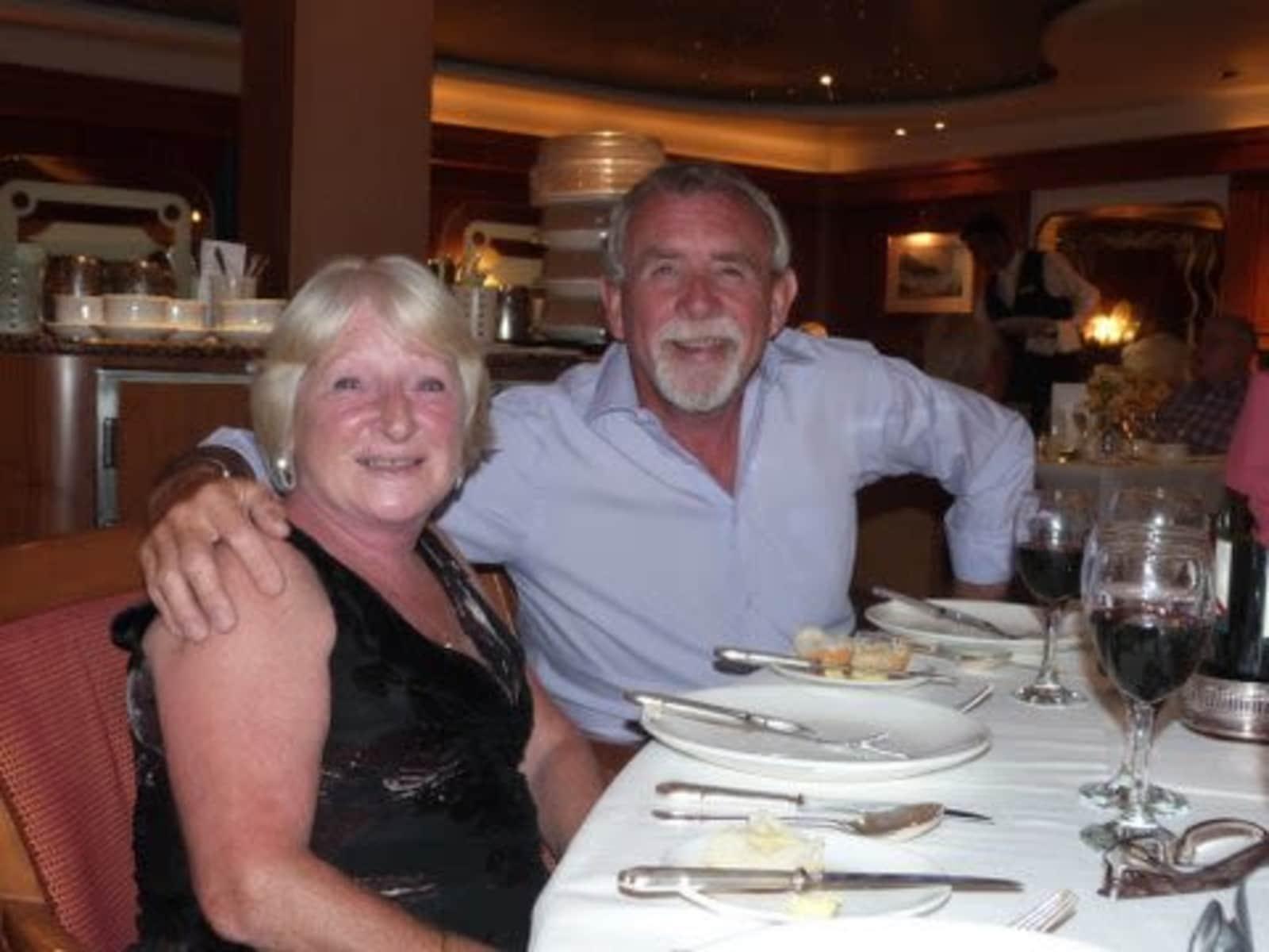 Alan & Sheena from Ledbury, United Kingdom