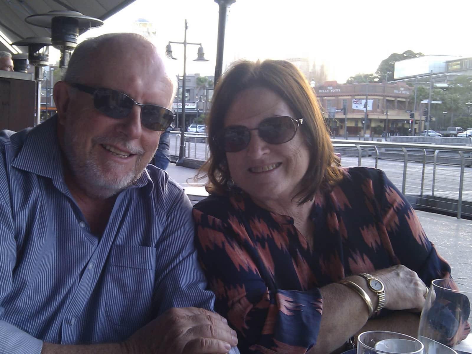 Phill & Jennifer from Sydney, New South Wales, Australia