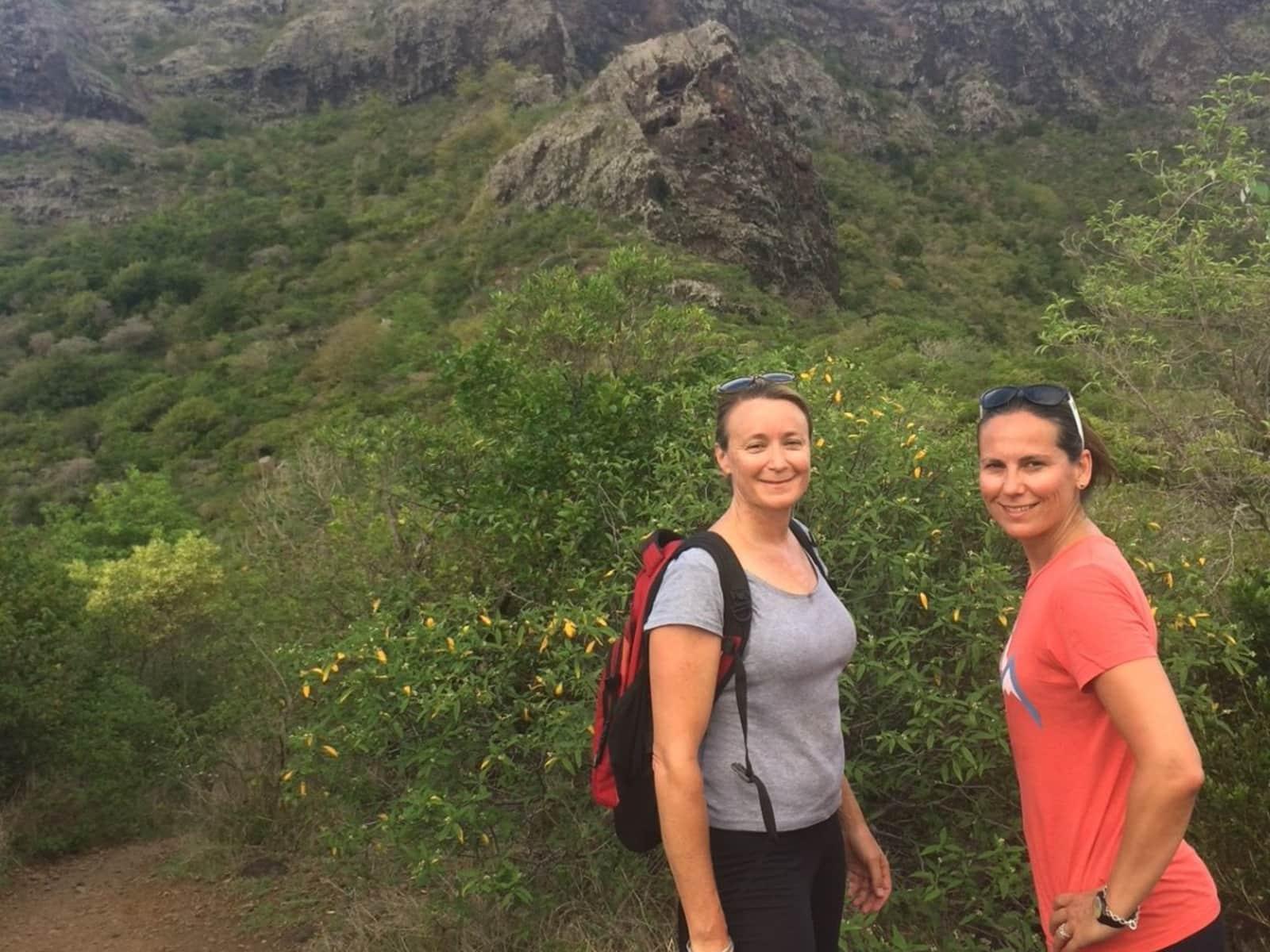 Nathalie & Kate from London, United Kingdom