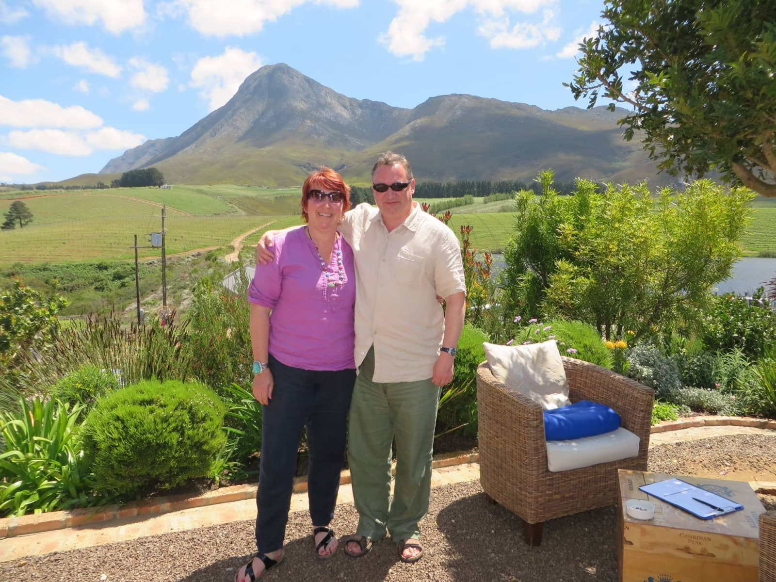 Joanne & Mark from Llanidloes, United Kingdom