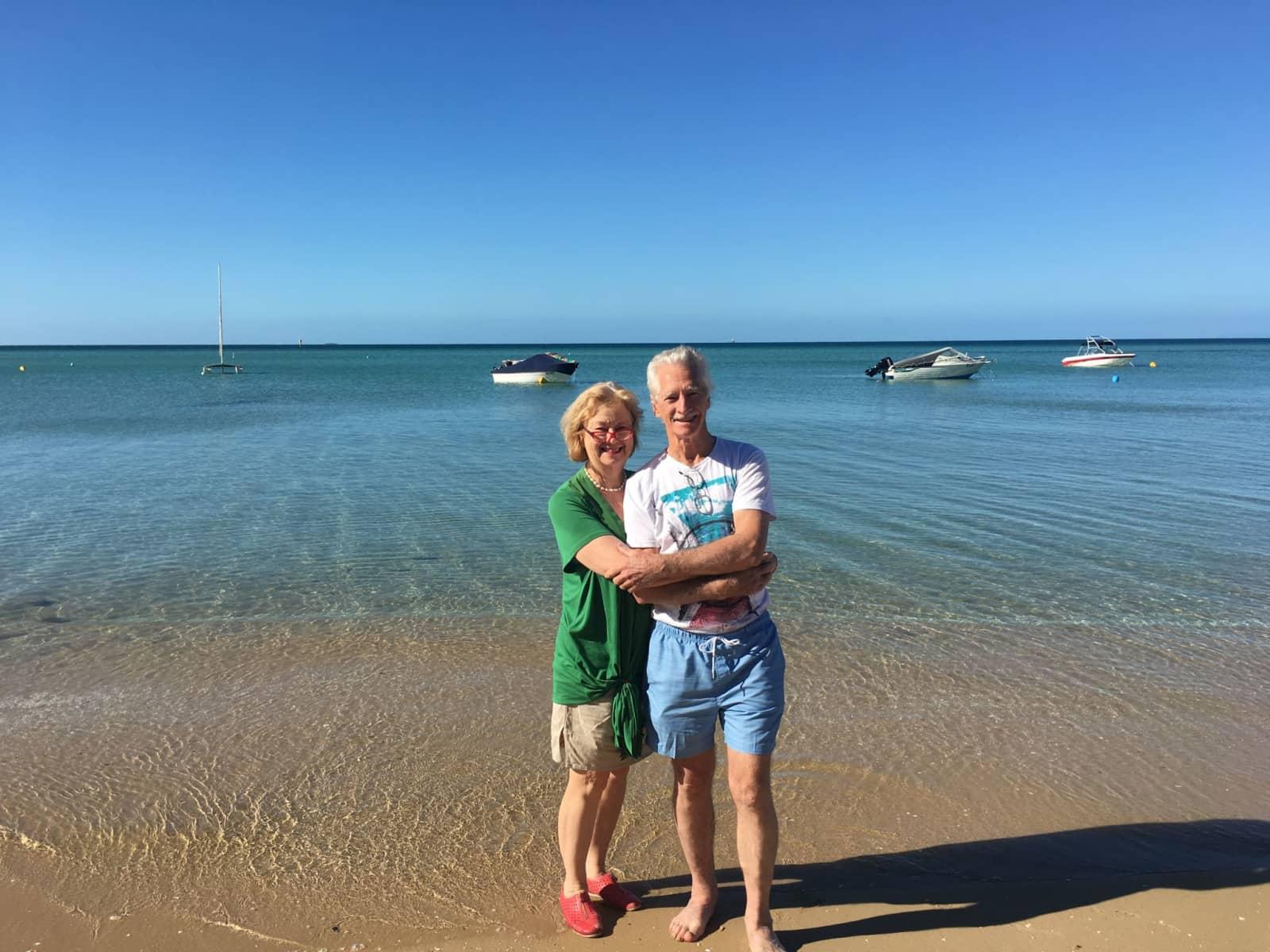 Kathleen & Raymond from Melbourne, Victoria, Australia