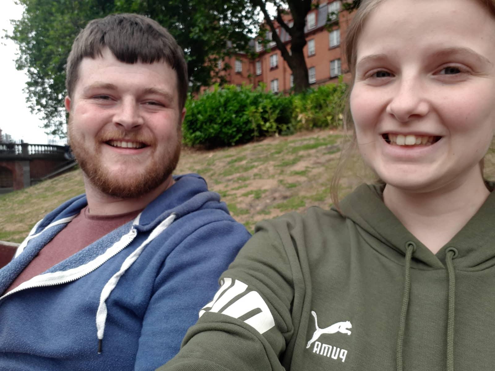 Benjamin & Floralie from Wickford, United Kingdom