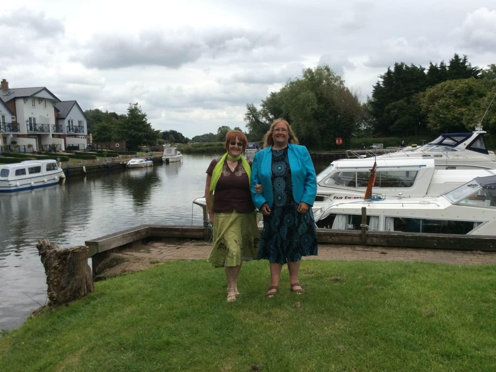 Pamela & Patricia from Bristol, United Kingdom