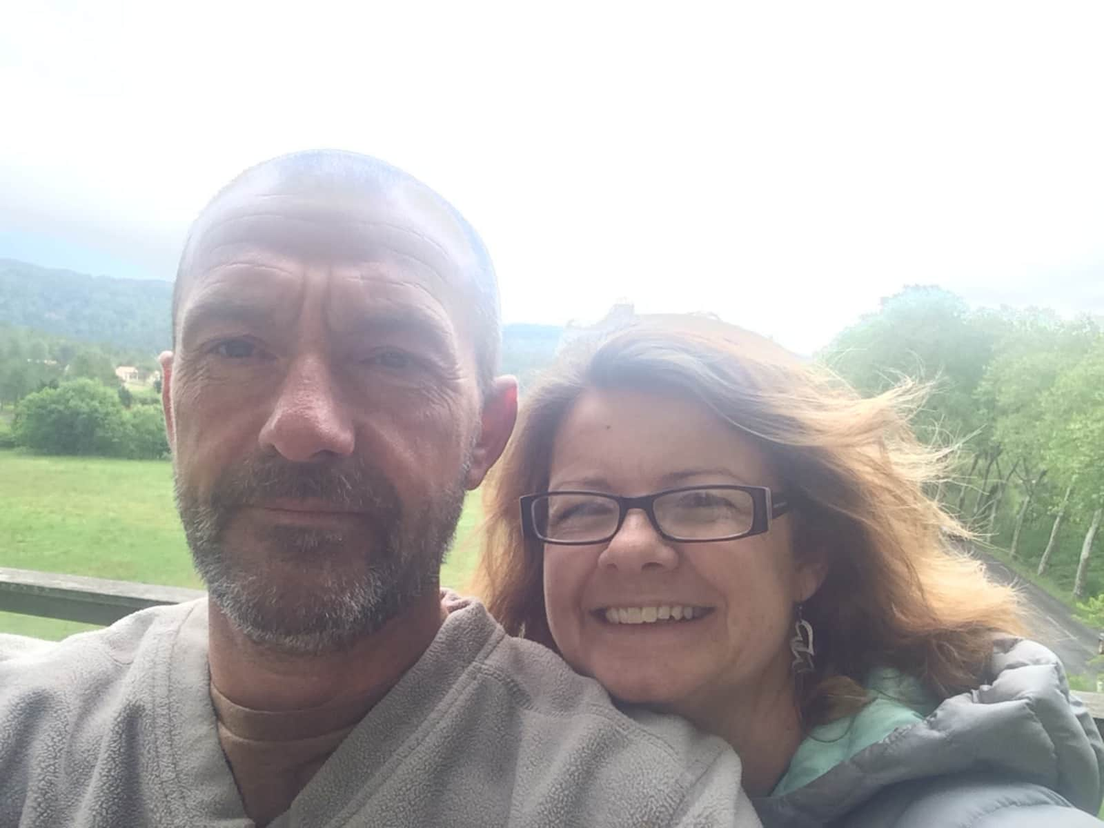 Andy & Toni from Worcester, United Kingdom