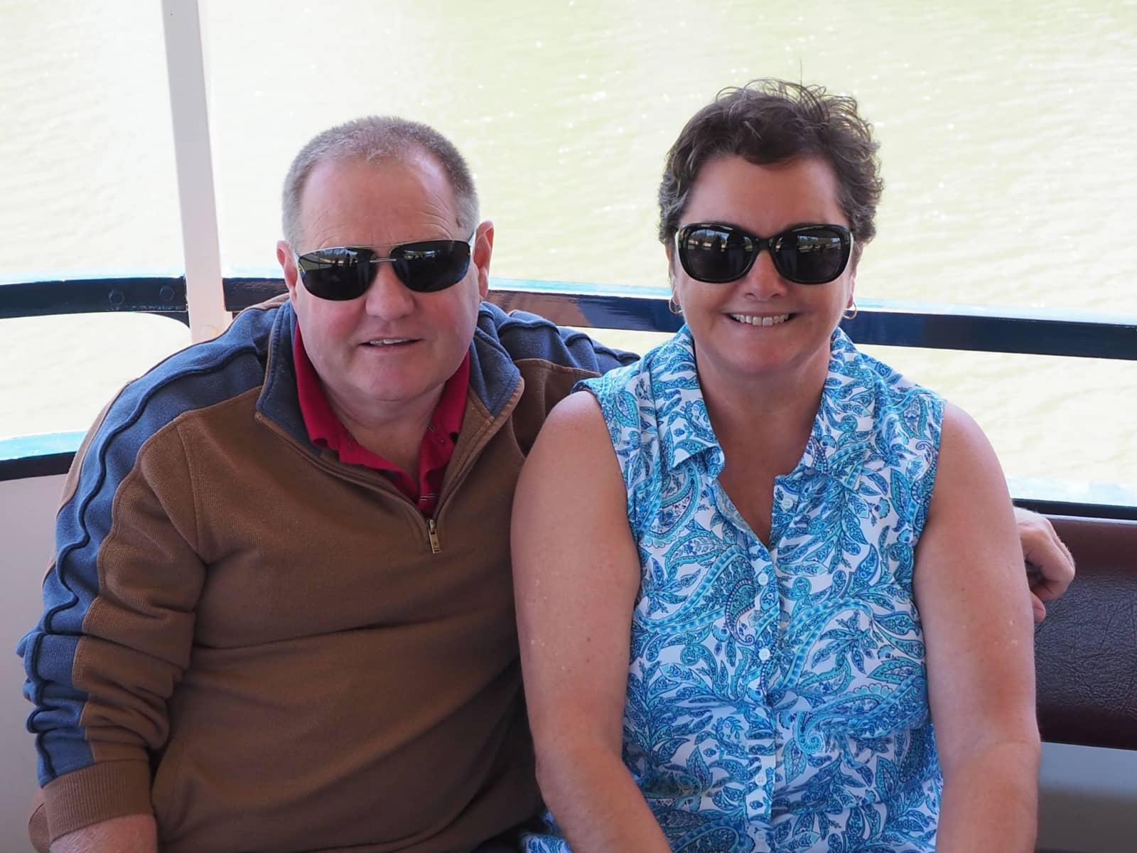 Cindy & Bernie from Box Hill, Victoria, Australia