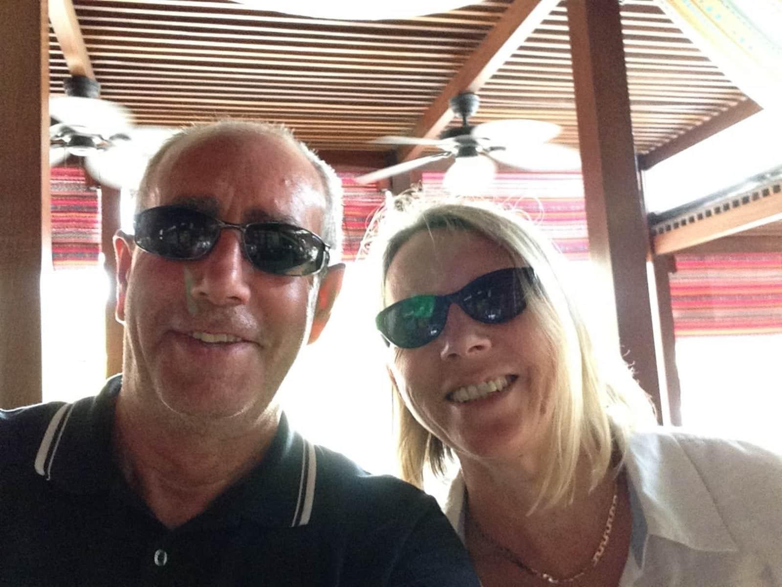Lynn & Roy from Perth, Western Australia, Australia