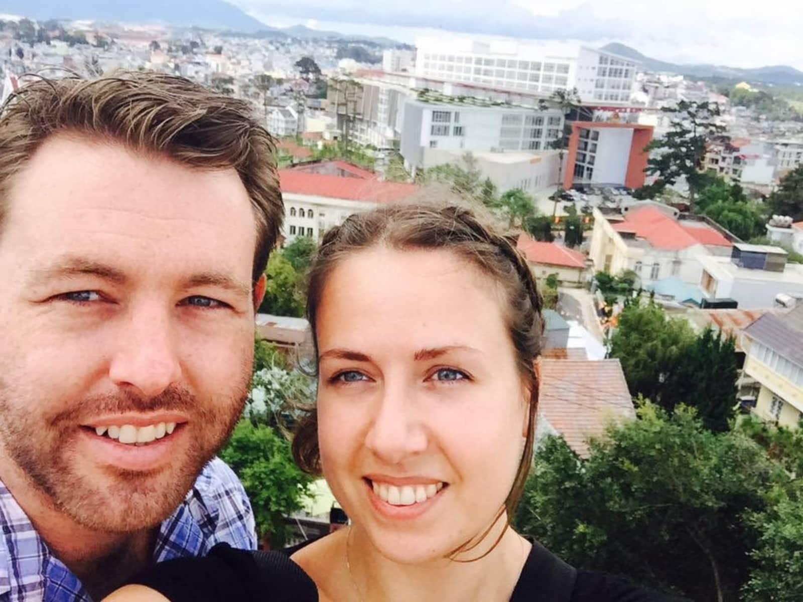 Heather & Glenn from Elwood, Victoria, Australia