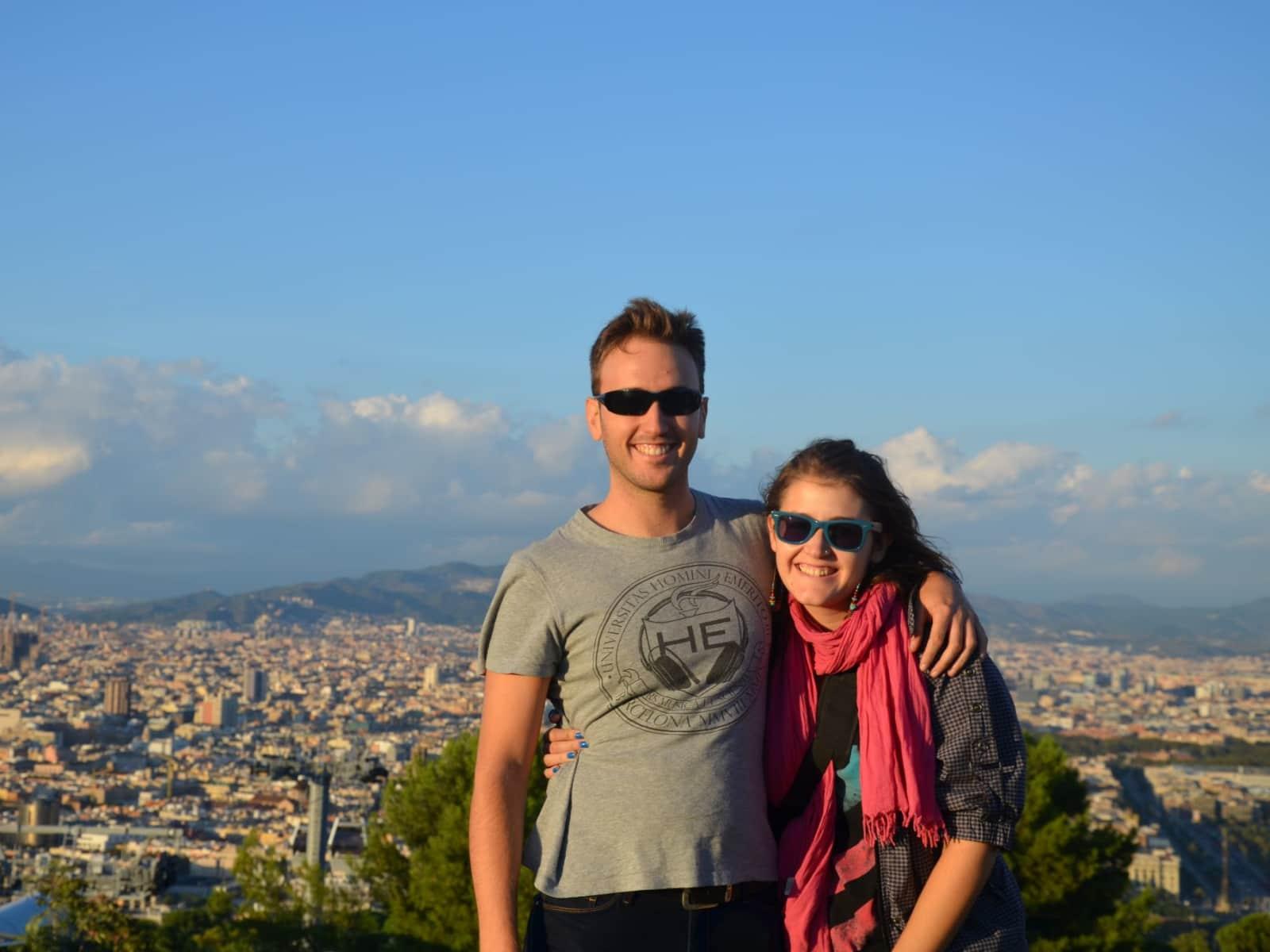 Carla llamas & Adrián from Barcelona, Spain