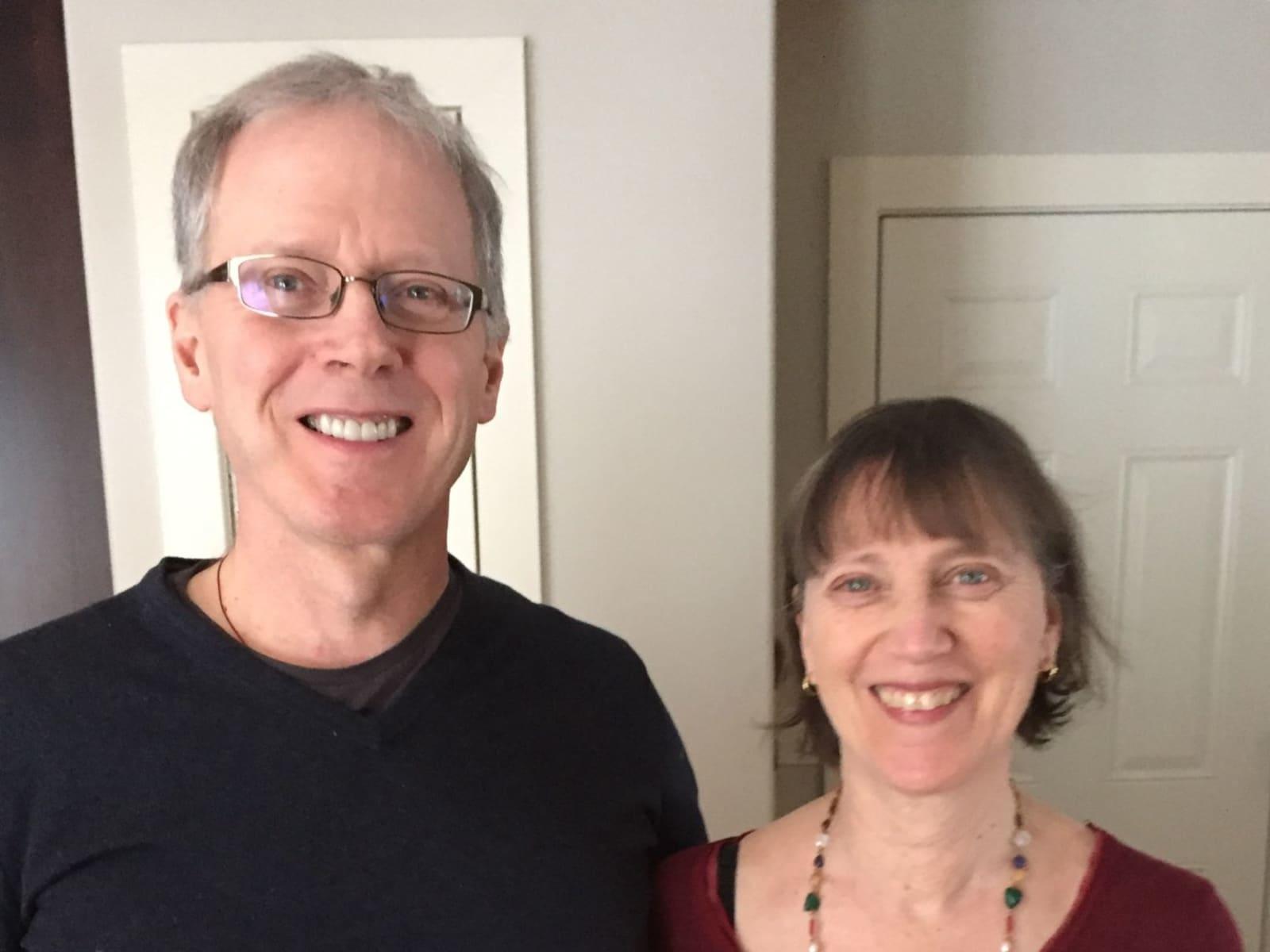 Andrew & Wendy from Halifax, Nova Scotia, Canada