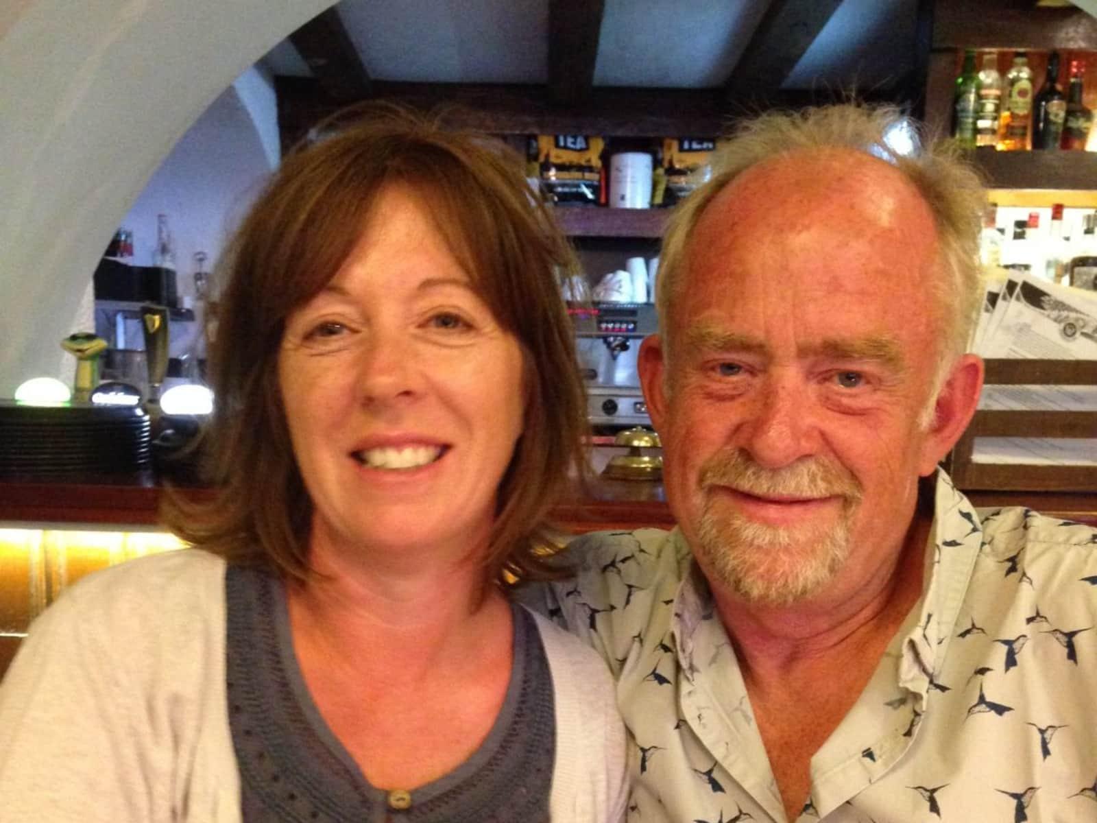 Andrea & Arnie from Bosham, United Kingdom