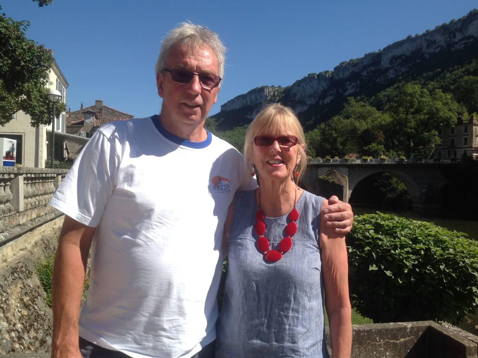 Carolyn & Roger from Perth, Western Australia, Australia