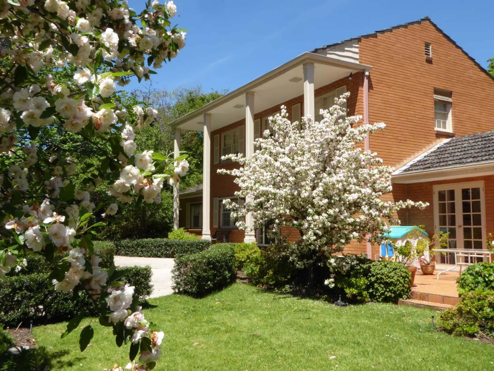 Housesitting assignment in Ringwood North, Victoria, Australia