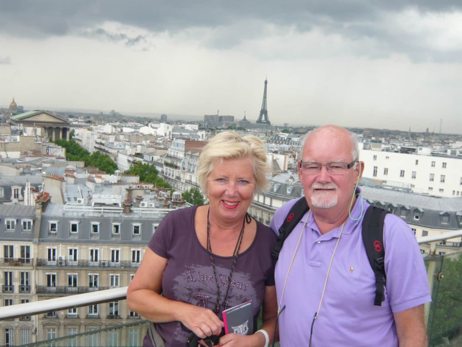 Brigitte & Frits from The Hague, Netherlands