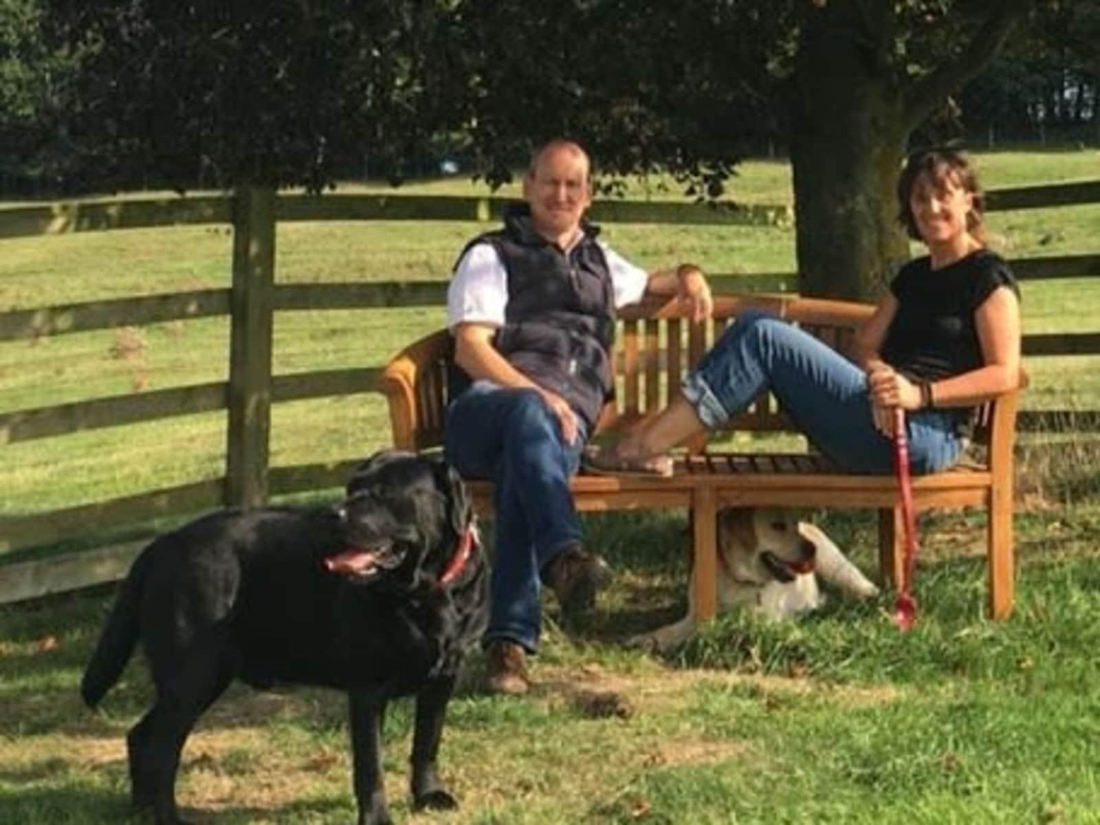 Jon & Jayne from Cranleigh, United Kingdom