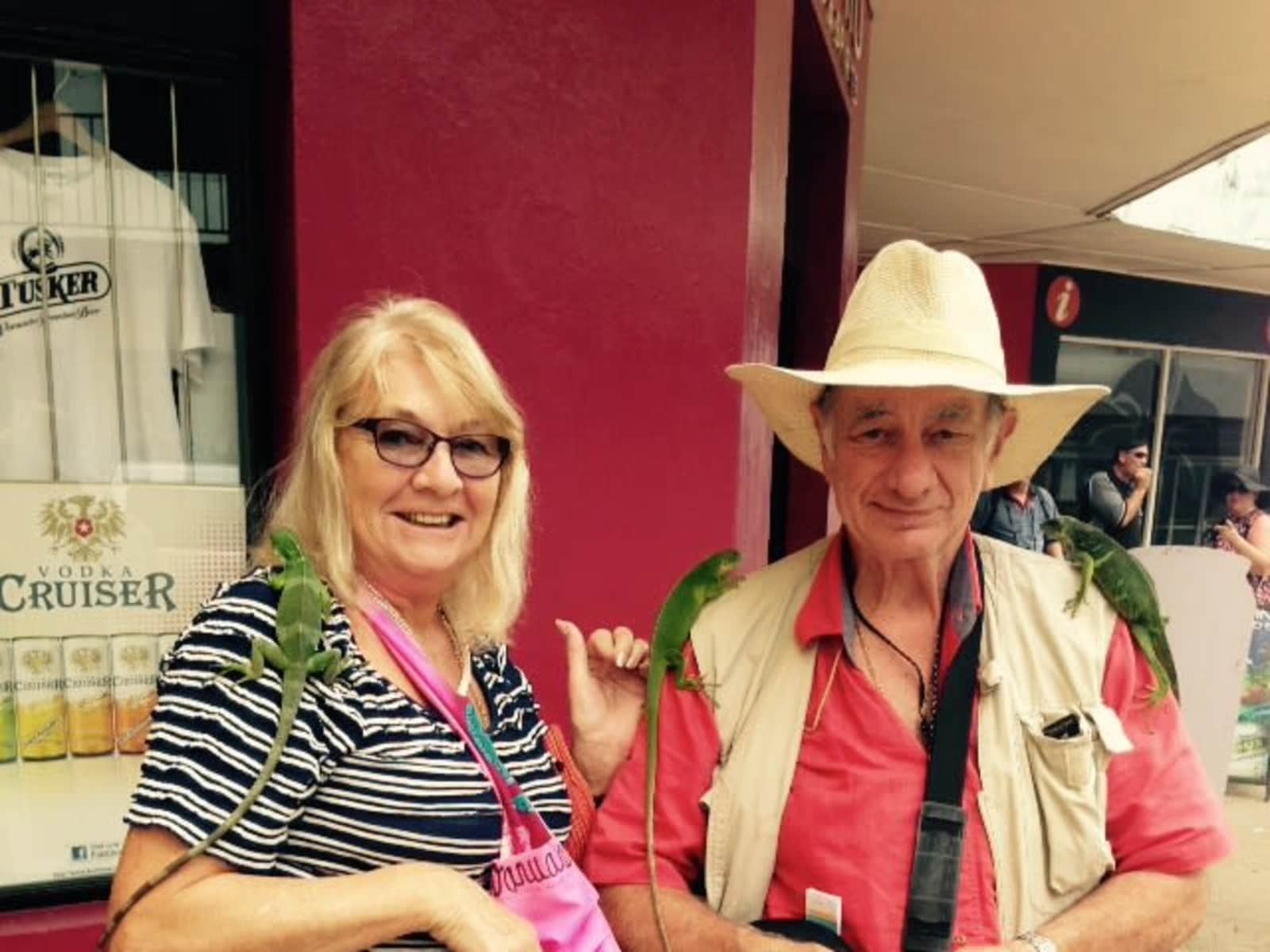 Mary & Barry from Pacific Pines, Queensland, Australia