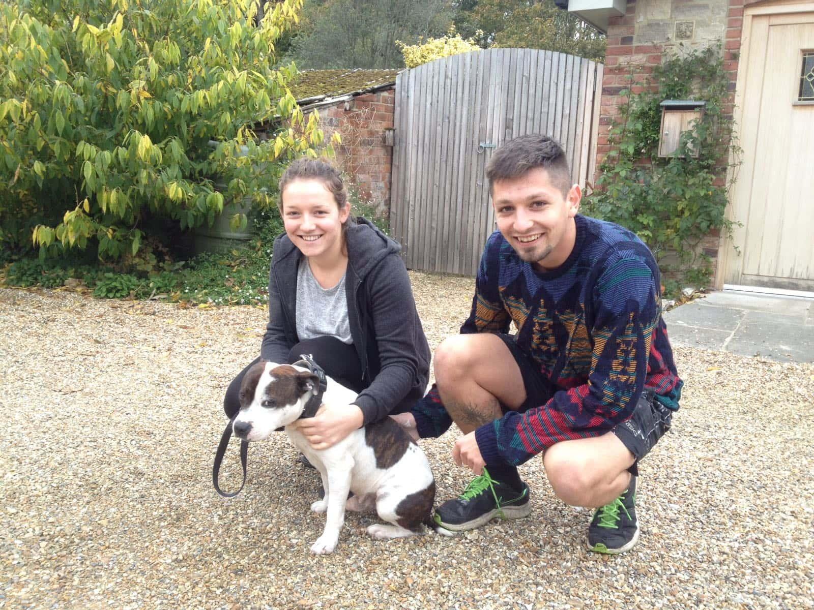 Eliza & Benjamin from Portsmouth, United Kingdom