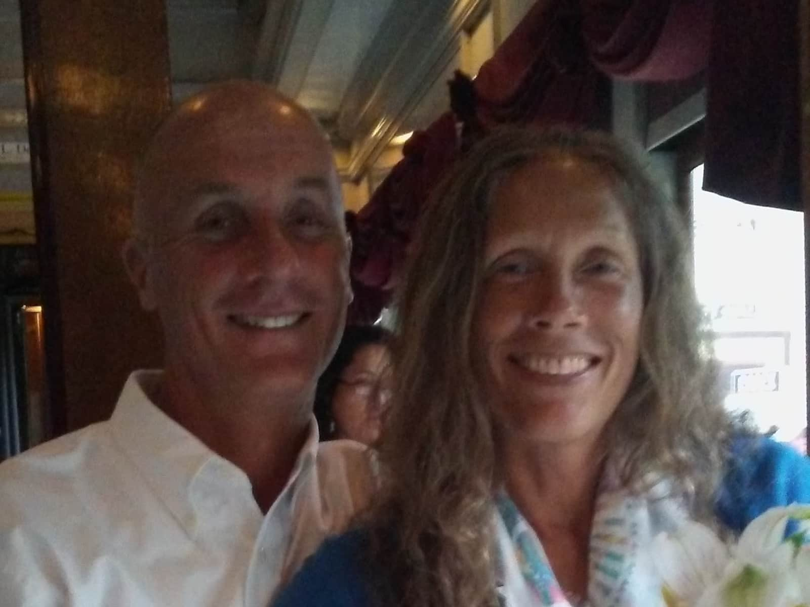 Deb & Jonathan from New London, Connecticut, United States