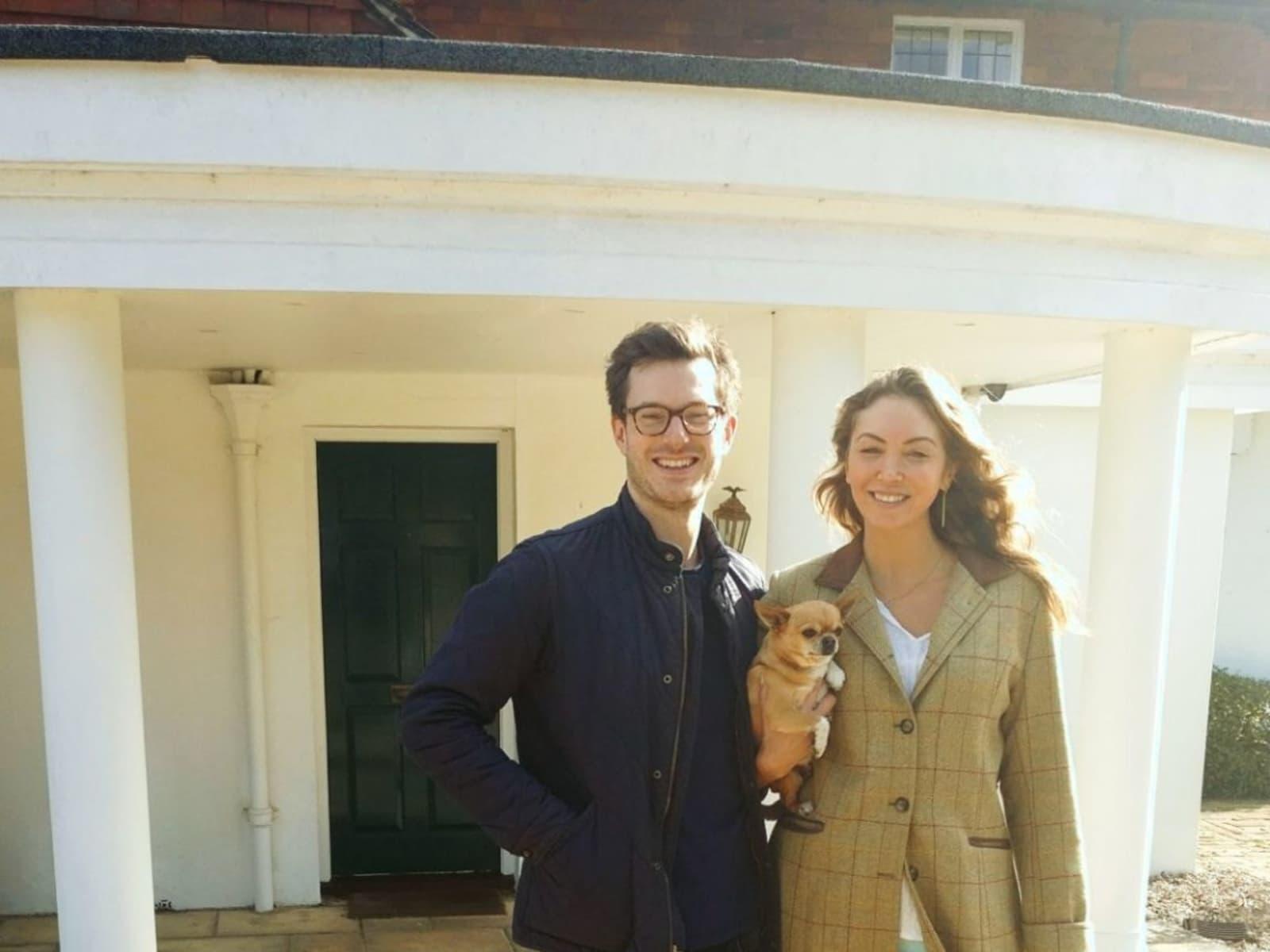 William & mellissa & . from London, United Kingdom