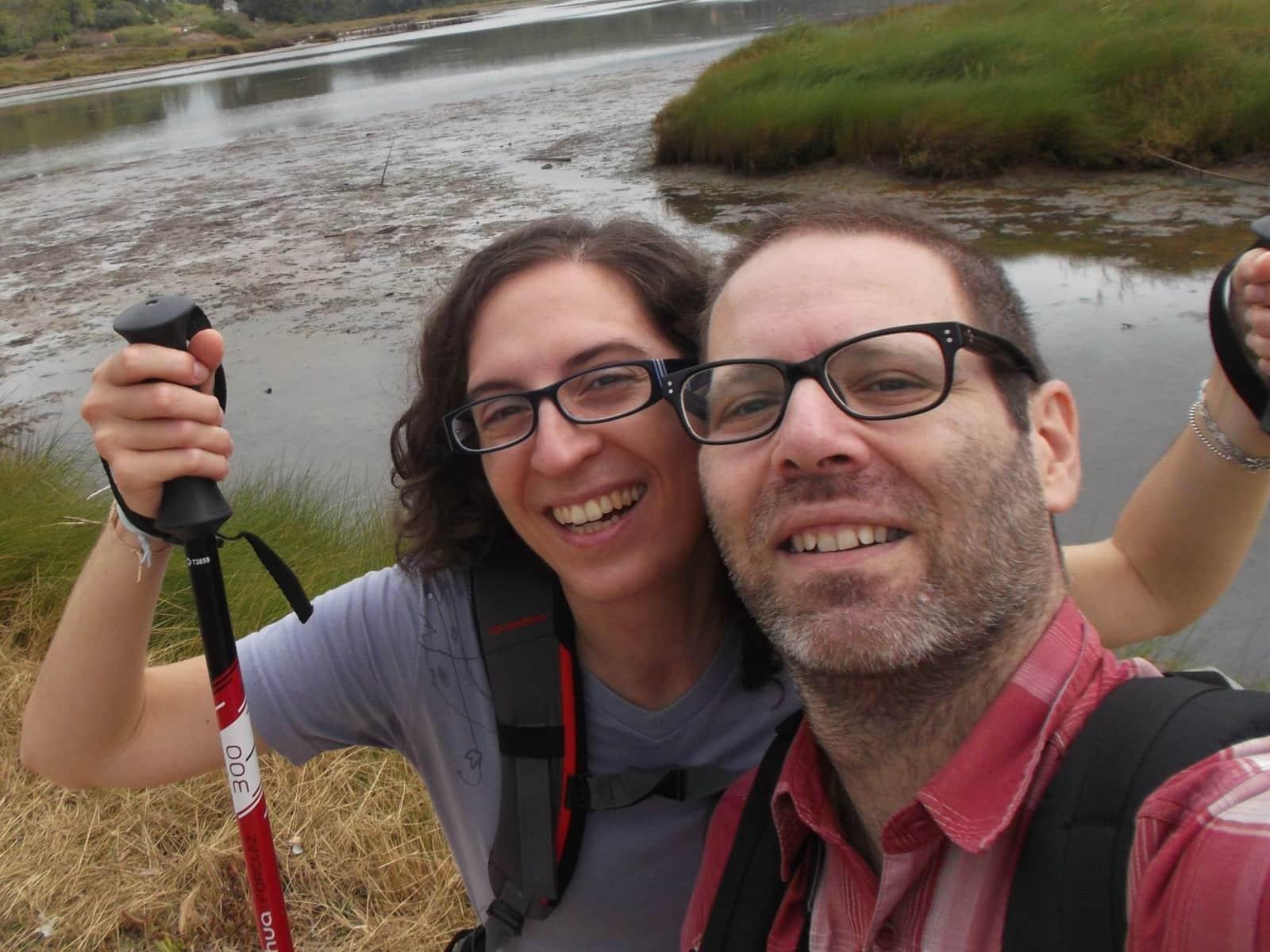 Luciana & Óscar from Caldas da Rainha, Portugal