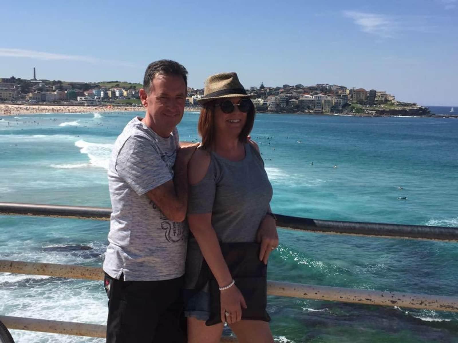 Sharon & John from Perth, Western Australia, Australia