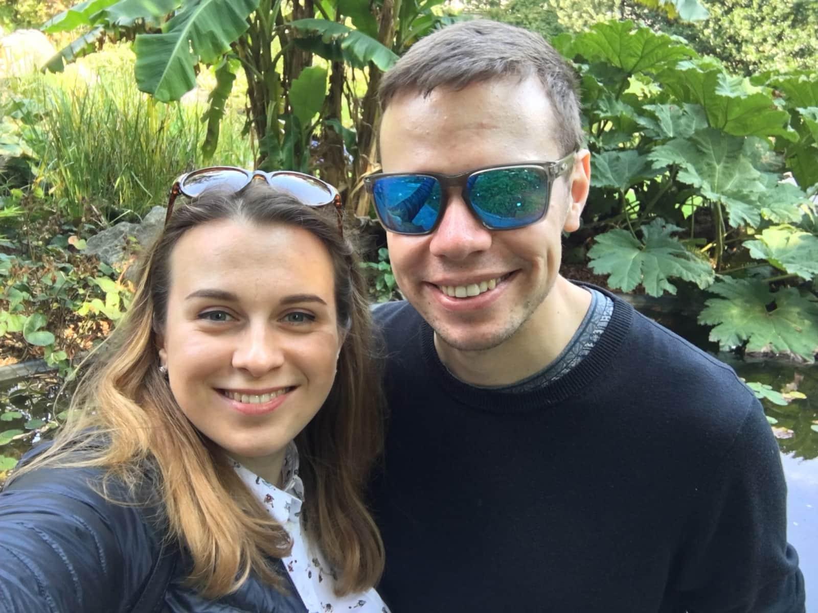 Ivan & Iryna from Antwerpen, Belgium