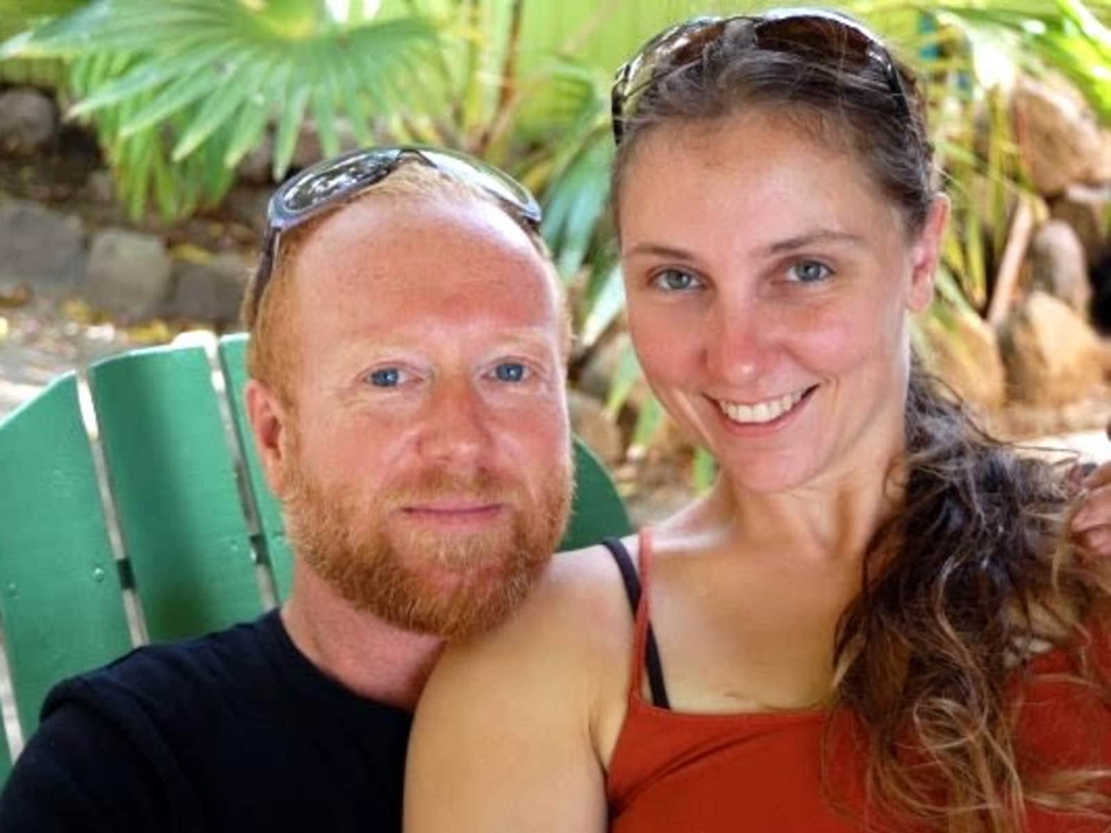 April & Jonni from Sadlers, Saint Kitts and Nevis