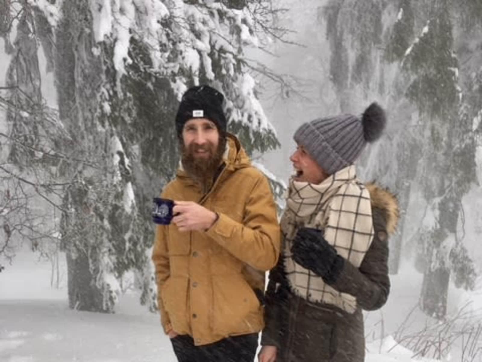 Joel & Ashleigh from Passau, Germany