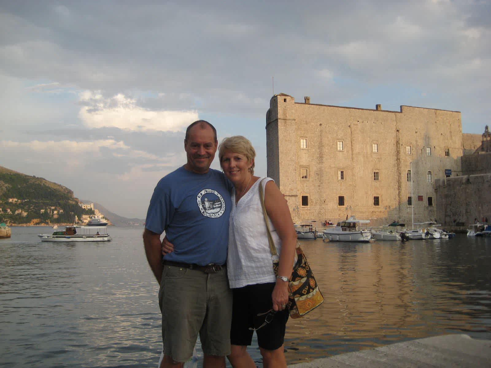 Julie & Brian from Vannes, France