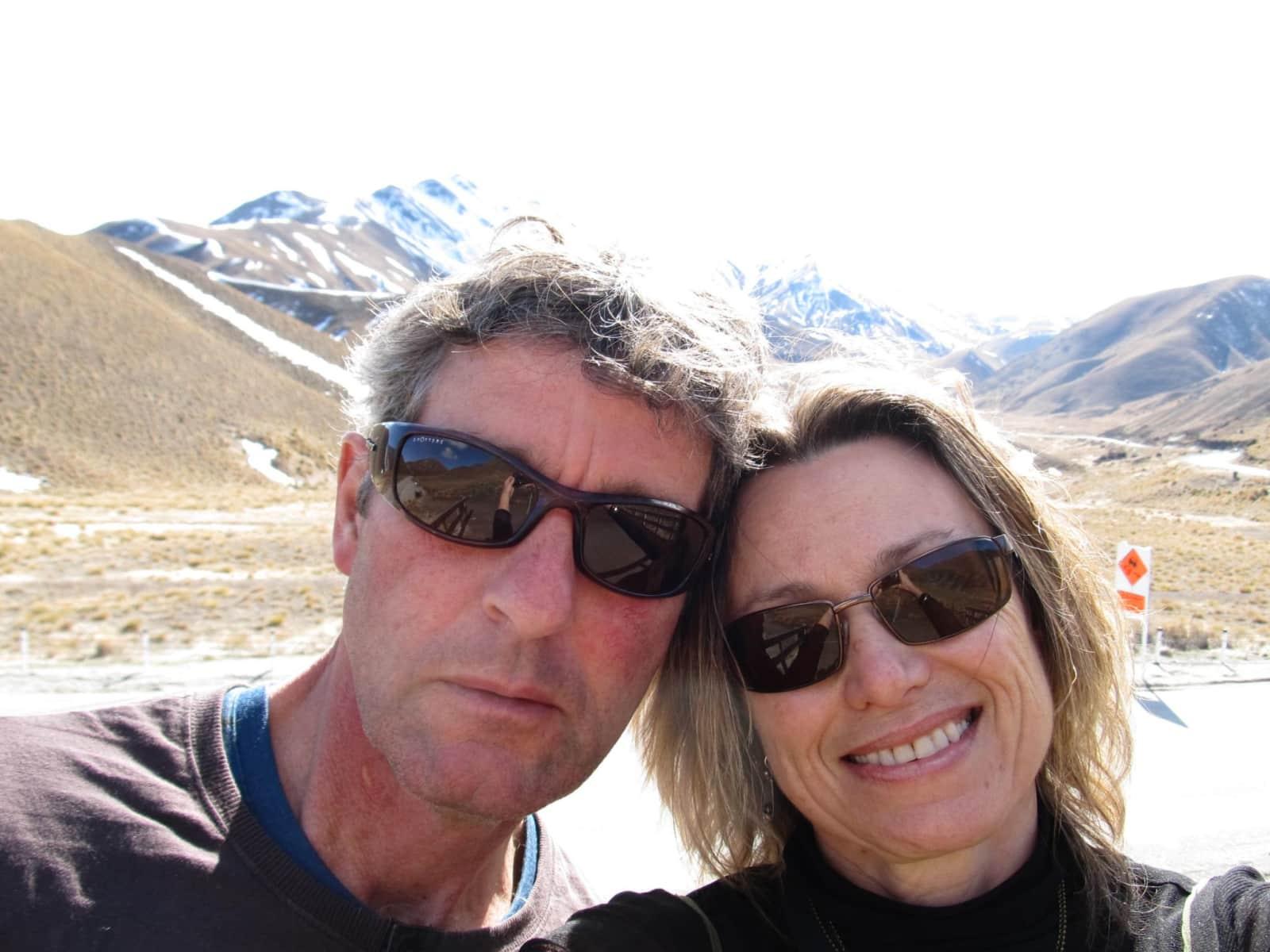 Megan & Murray from Dunedin, New Zealand